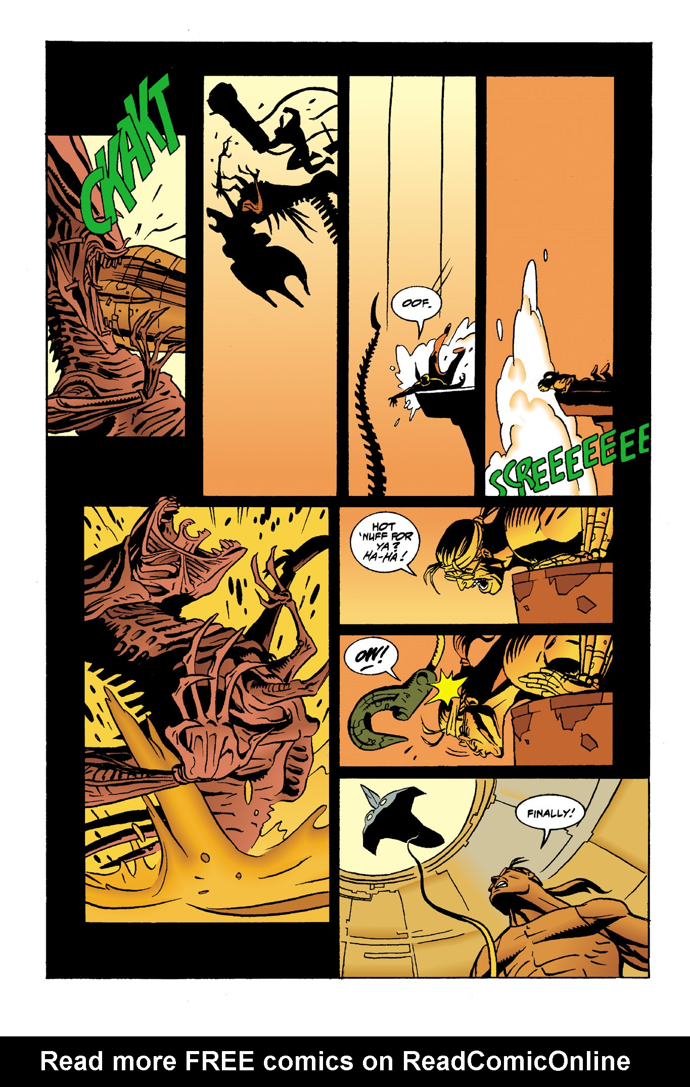 Read online Aliens: Mondo Heat comic -  Issue # Full - 19