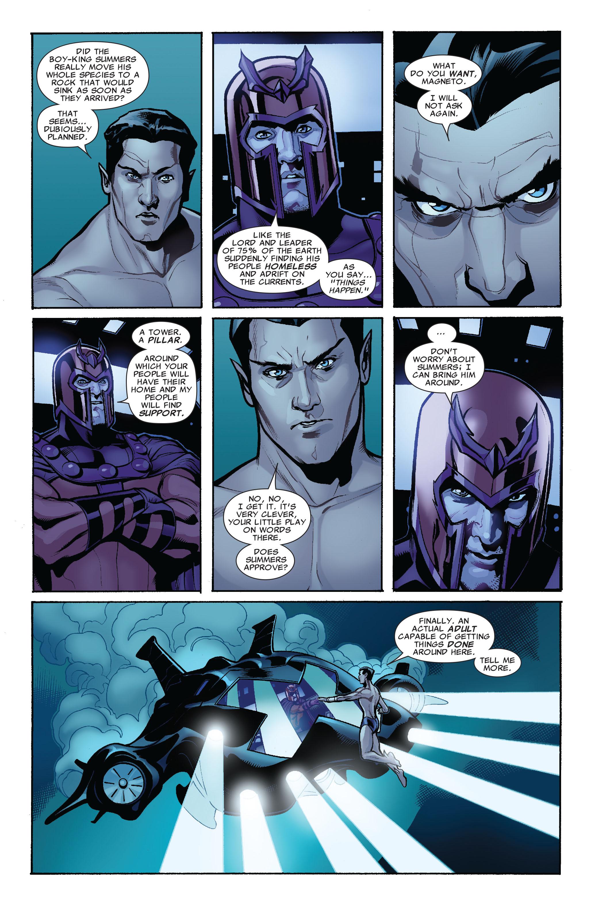 Read online Uncanny X-Men (1963) comic -  Issue #519 - 15