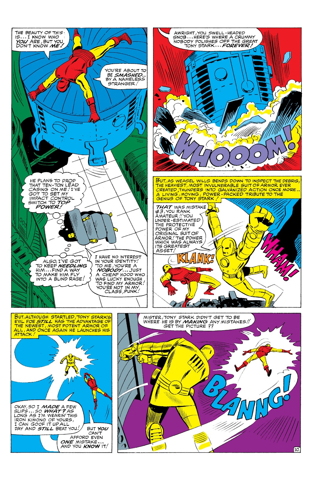Read online Marvel Masterworks: The Invincible Iron Man comic -  Issue # TPB 2 (Part 3) - 38