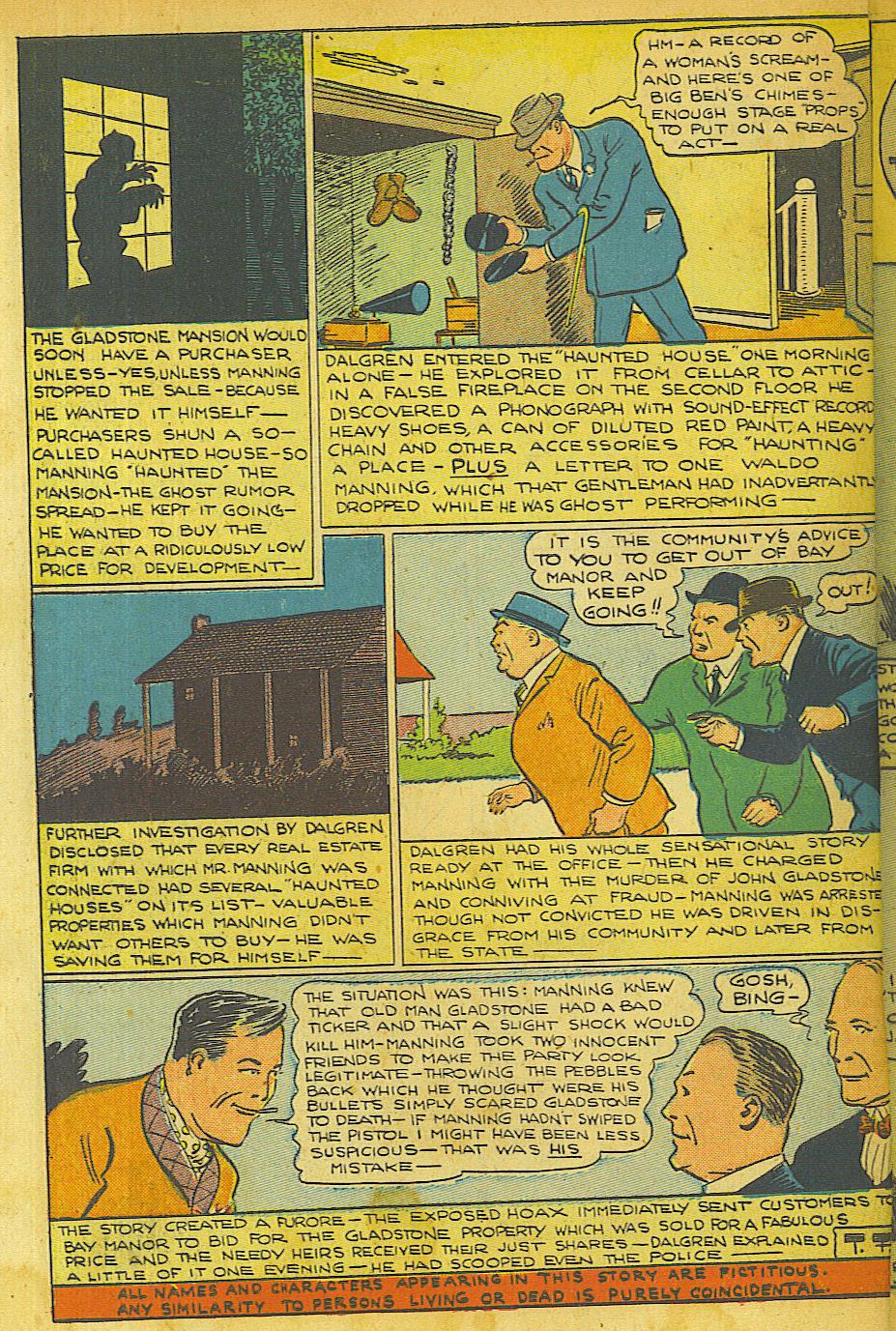 Read online Shadow Comics comic -  Issue #63 - 46