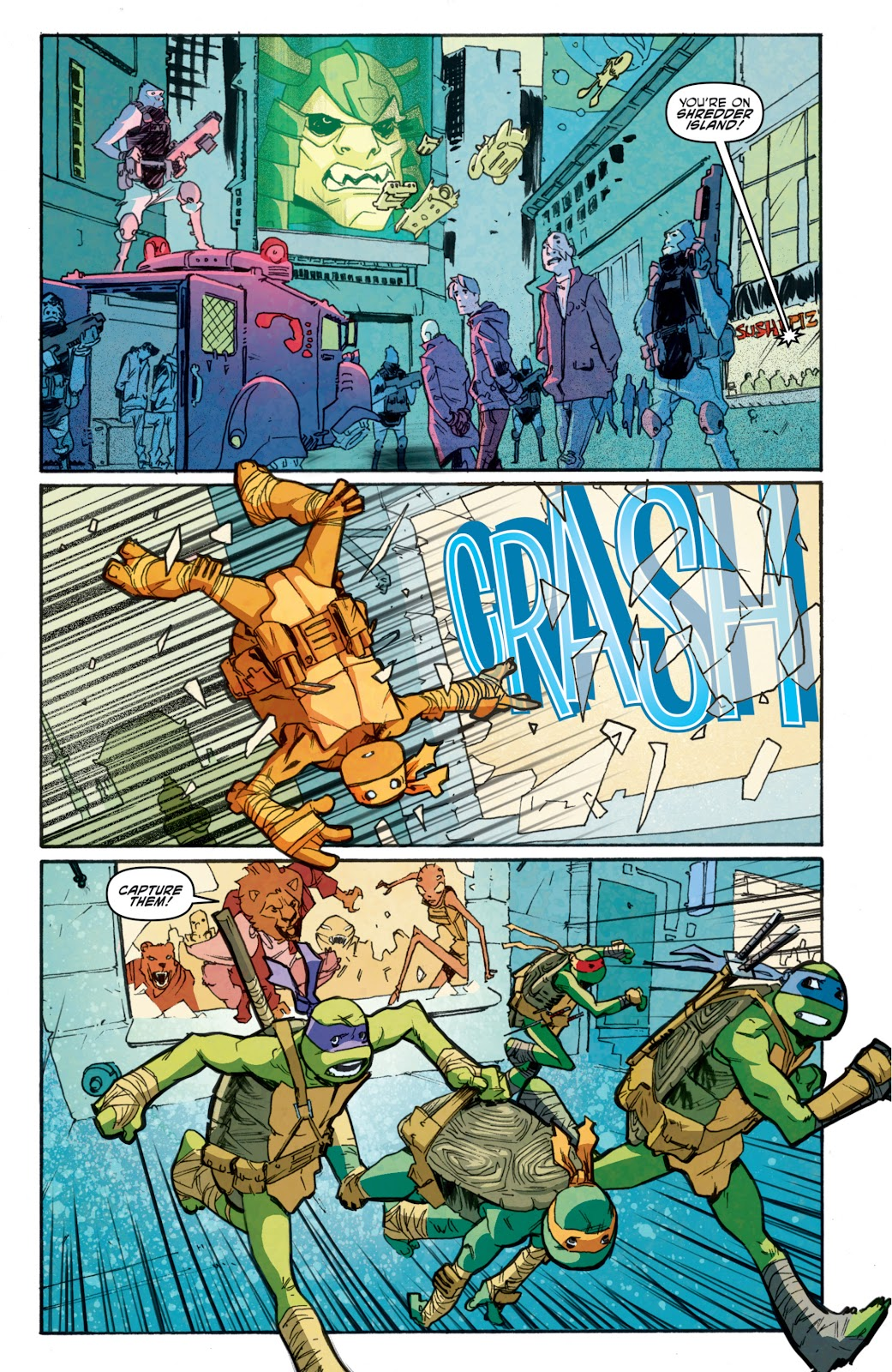 Read online Teenage Mutant Ninja Turtles: The IDW Collection comic -  Issue # TPB 5 (Part 1) - 79