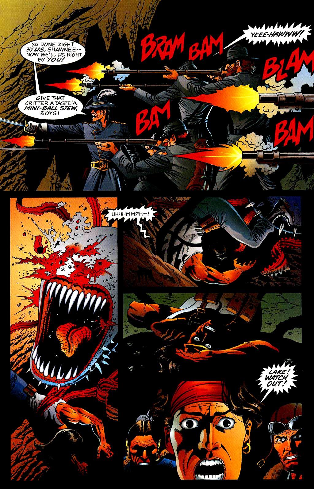 Read online Turok, Dinosaur Hunter (1993) comic -  Issue #40 - 20