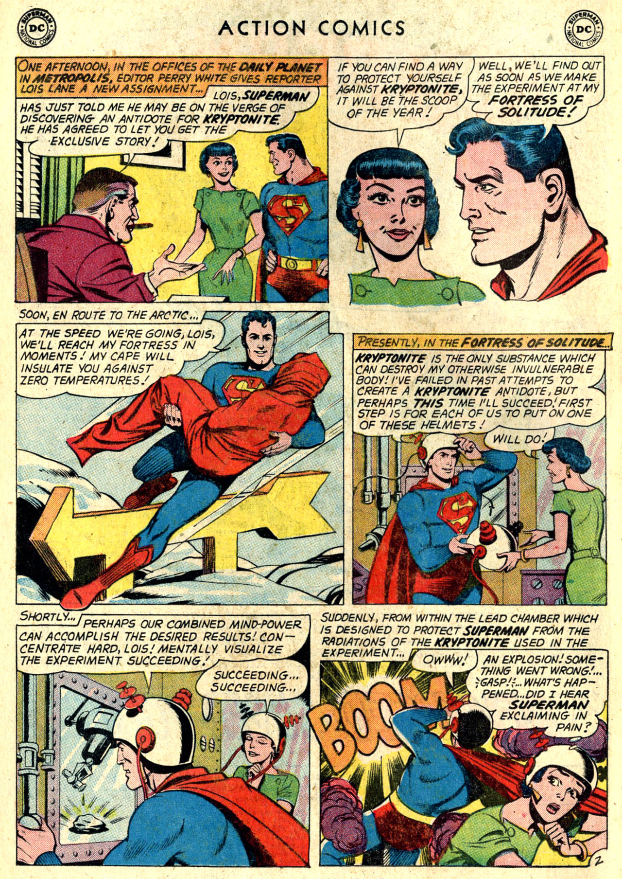 Read online Action Comics (1938) comic -  Issue #274 - 4