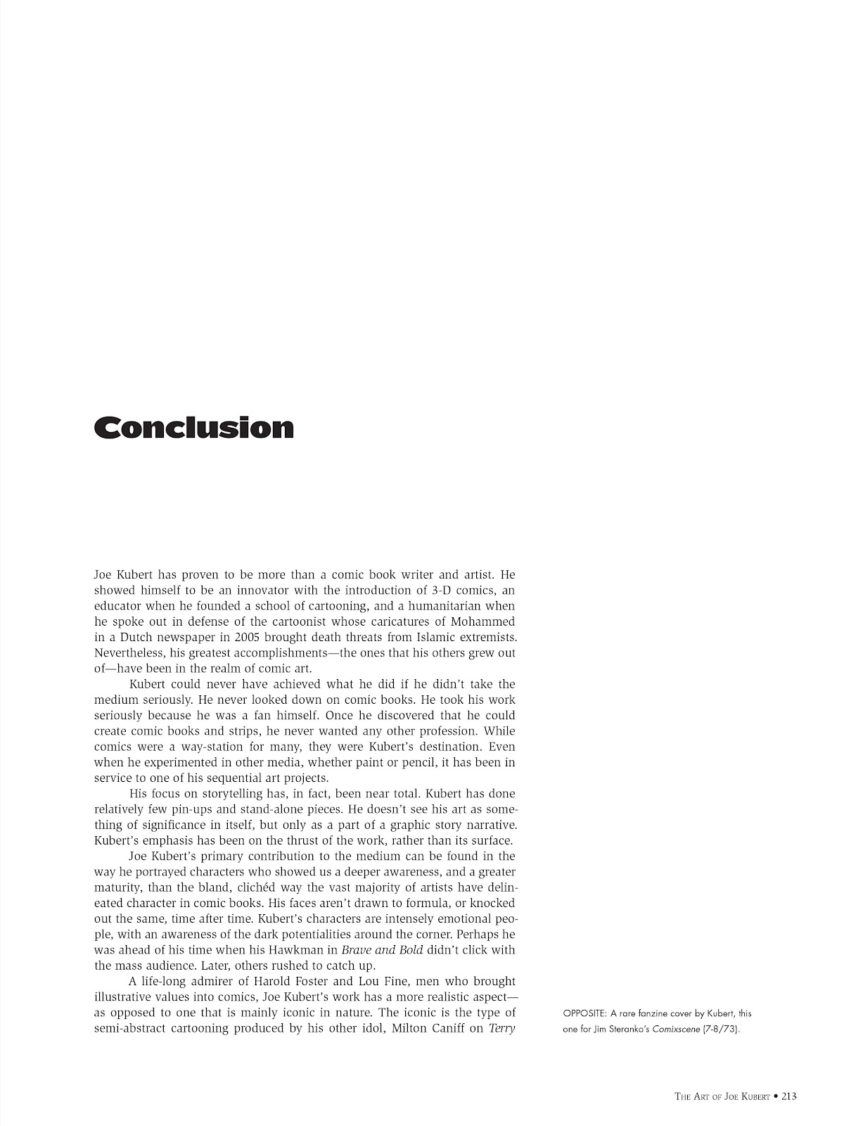 Read online The Art of Joe Kubert comic -  Issue # TPB (Part 3) - 13