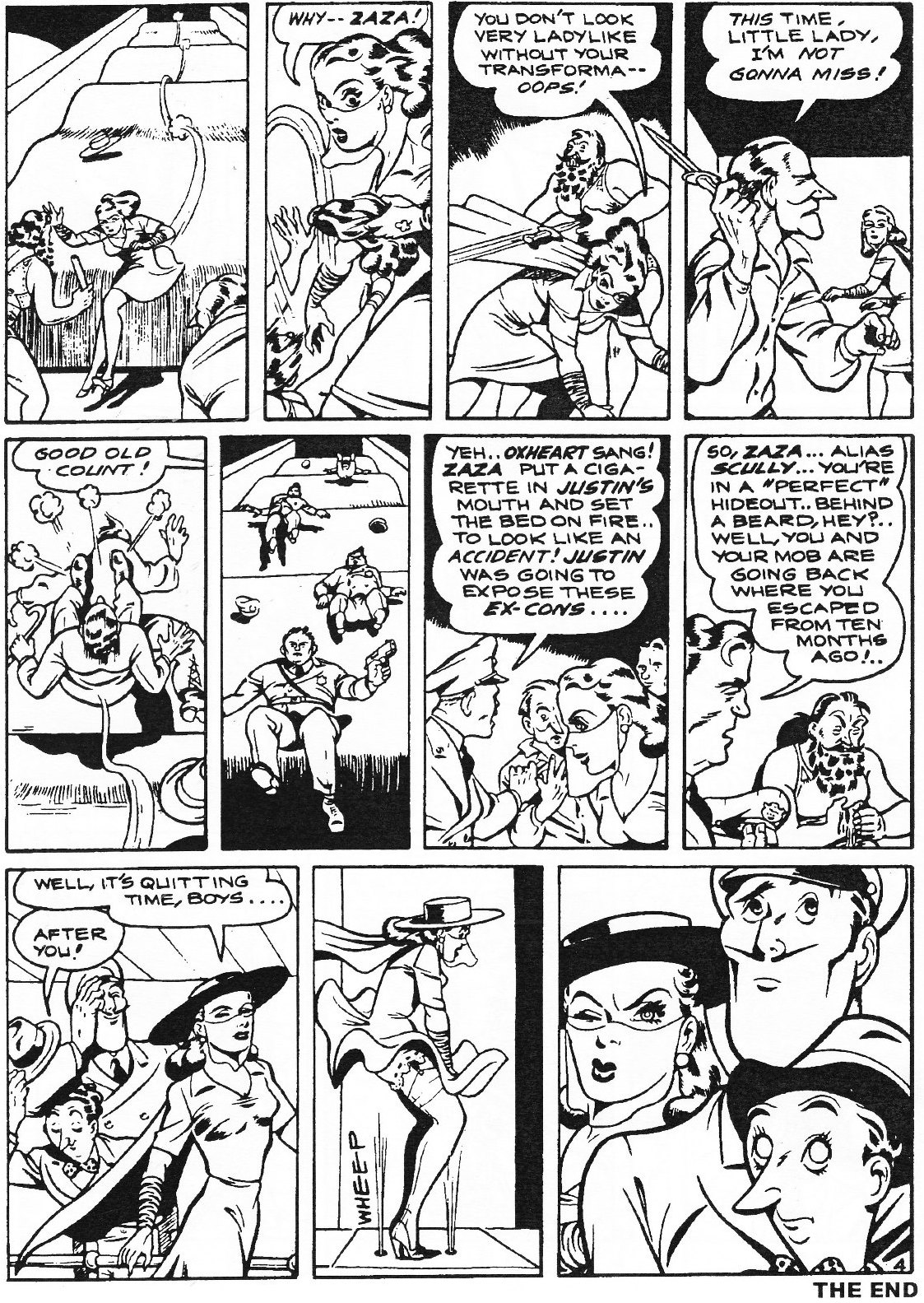 Read online Men of Mystery Comics comic -  Issue #82 - 156
