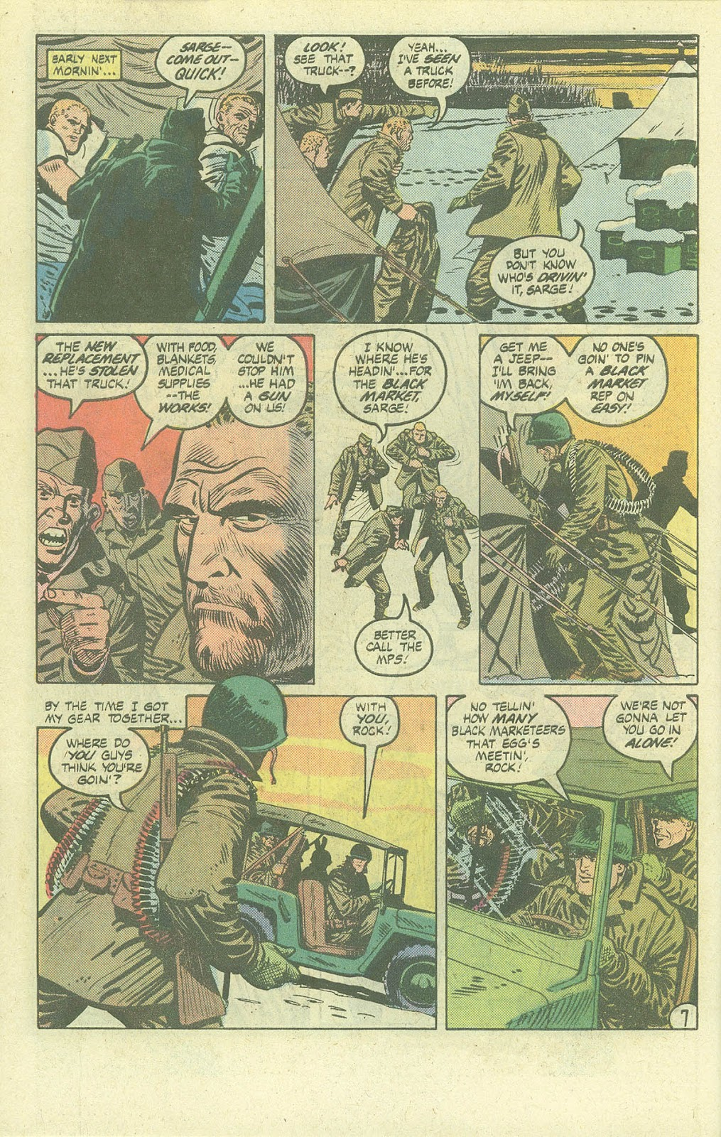 Sgt. Rock issue Annual 3 - Page 9