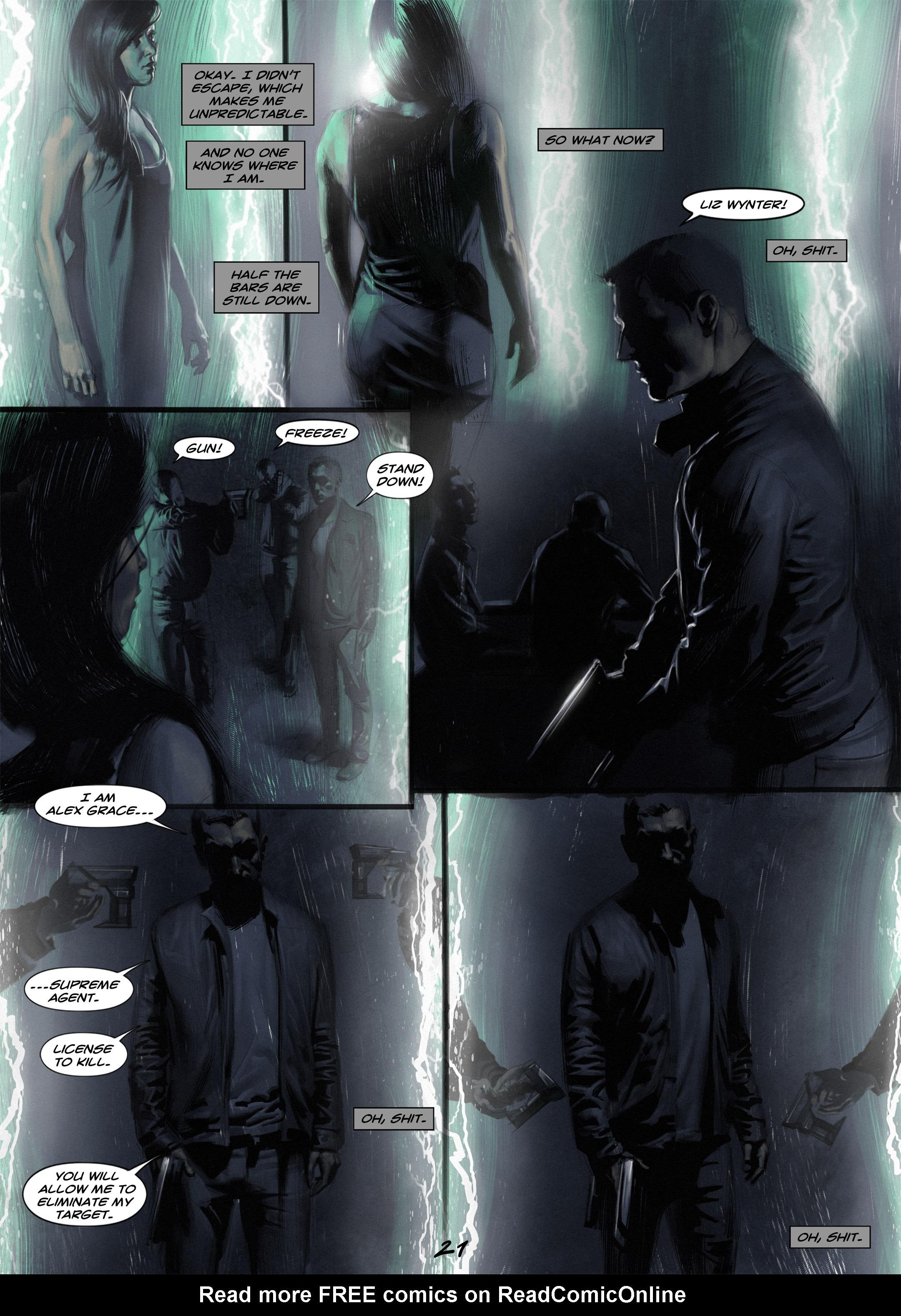 Read online Wynter comic -  Issue #2 - 21