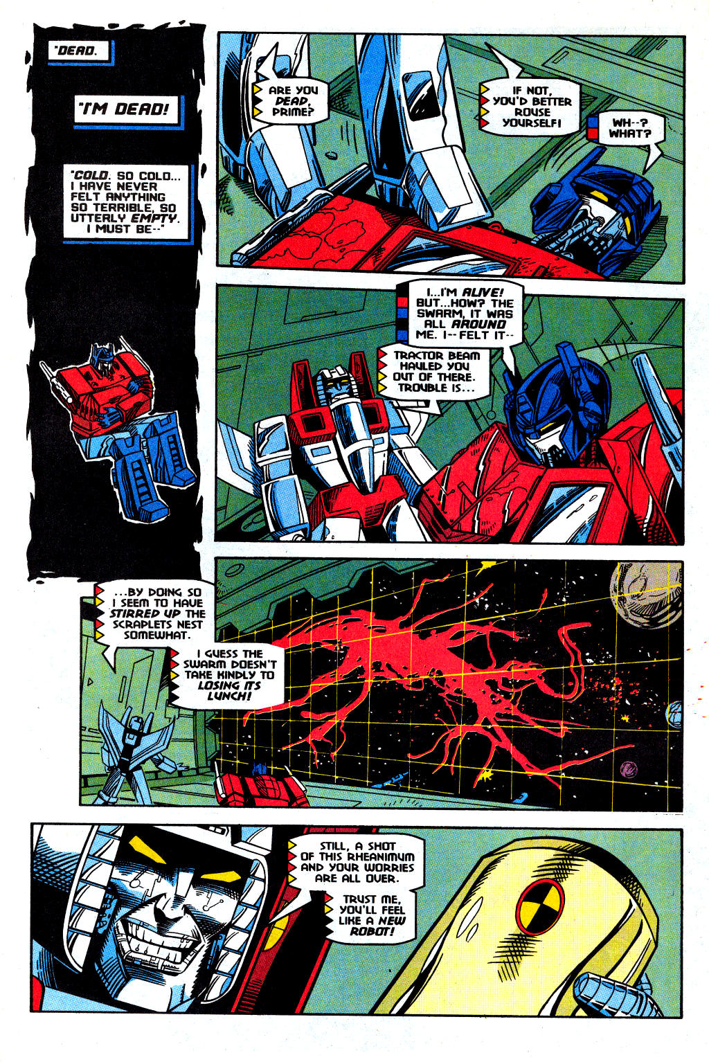 Read online Transformers: Generation 2 comic -  Issue #12 - 25
