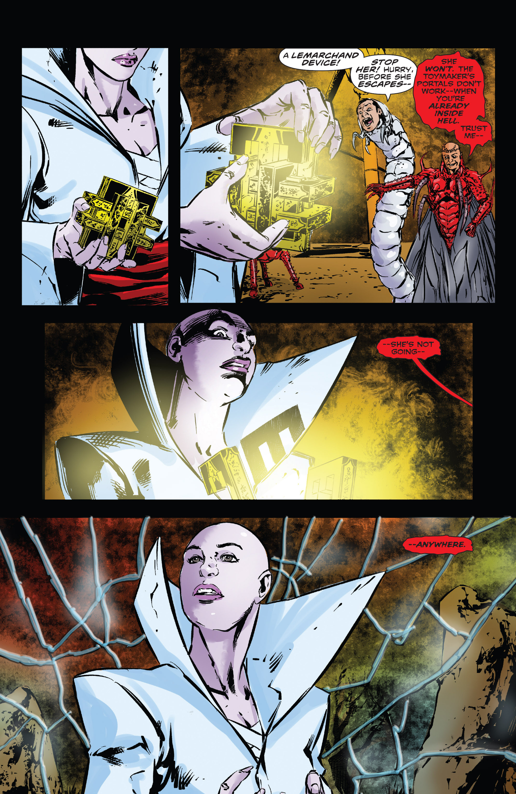 Read online Clive Barker's Hellraiser: The Dark Watch comic -  Issue # TPB 3 - 100