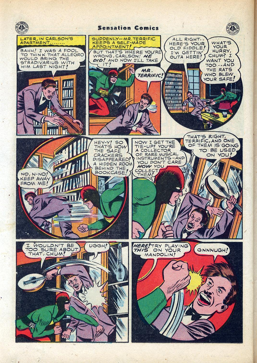 Read online Sensation (Mystery) Comics comic -  Issue #45 - 32