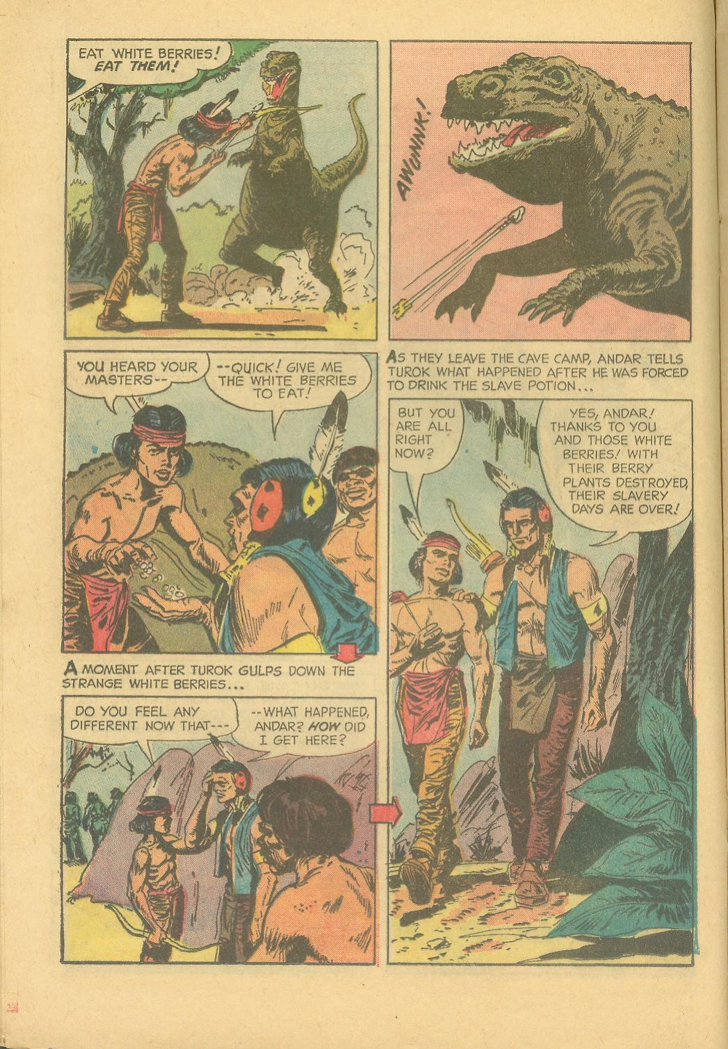 Read online Turok, Son of Stone comic -  Issue #28 - 16