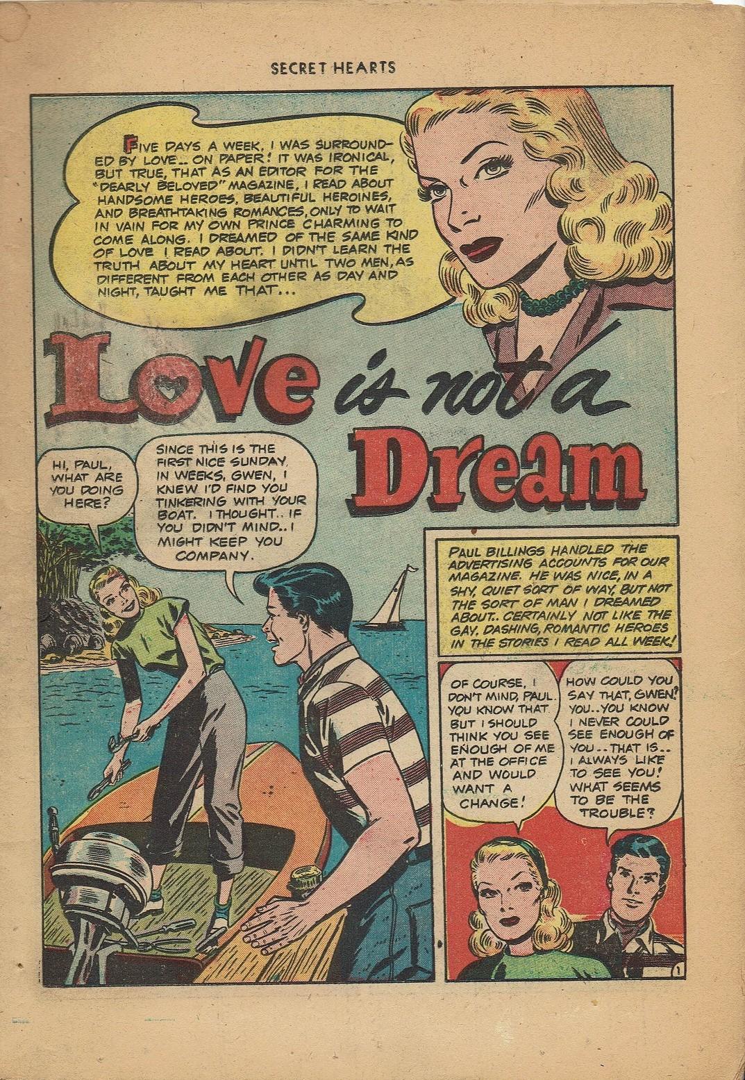 Read online Secret Hearts comic -  Issue #2 - 3