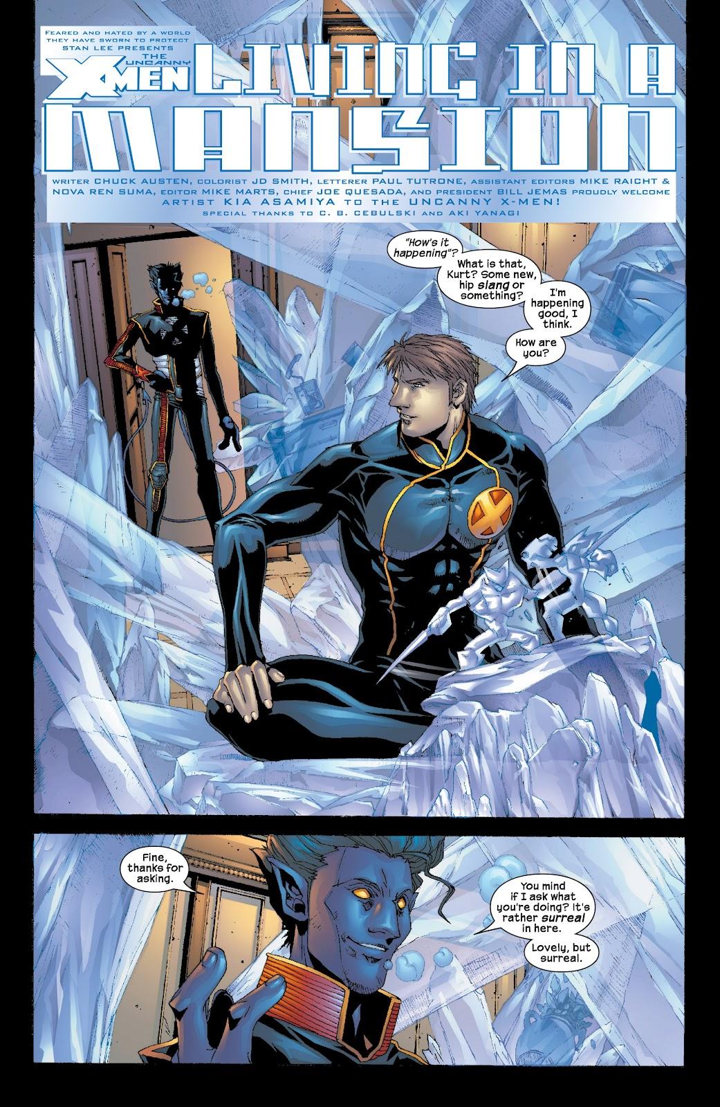 Uncanny X-Men (1963) issue 416 - Page 4