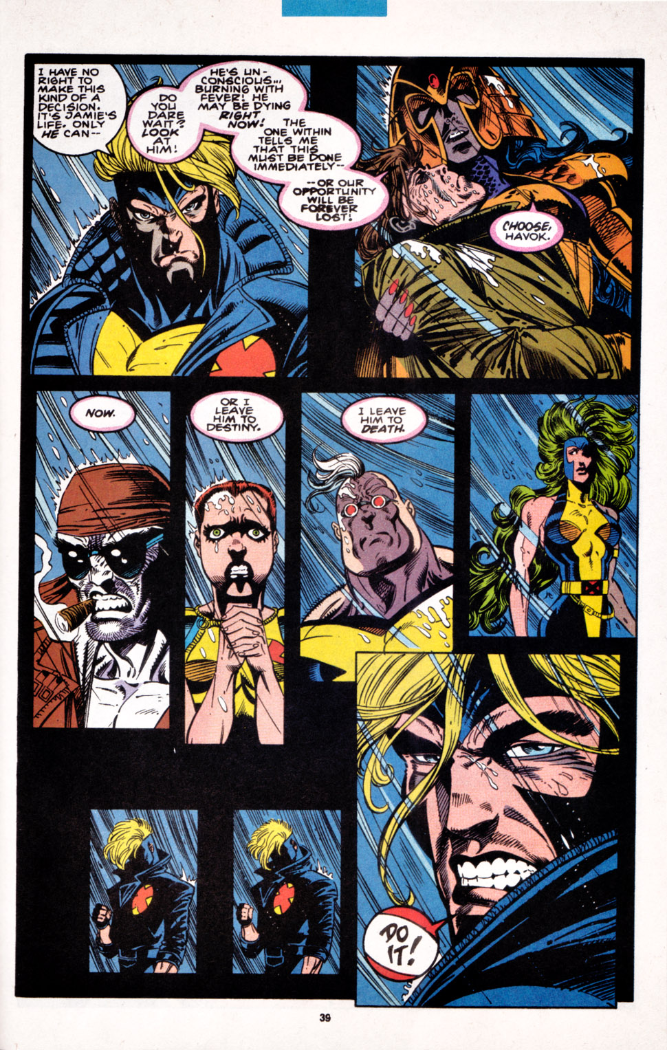 Read online X-Factor (1986) comic -  Issue #100 - 32