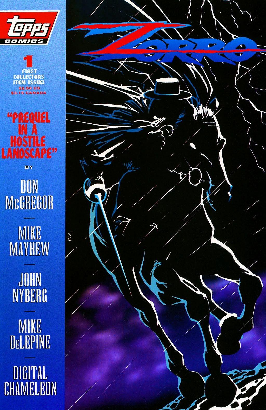 Zorro (1993) 1 Page 1