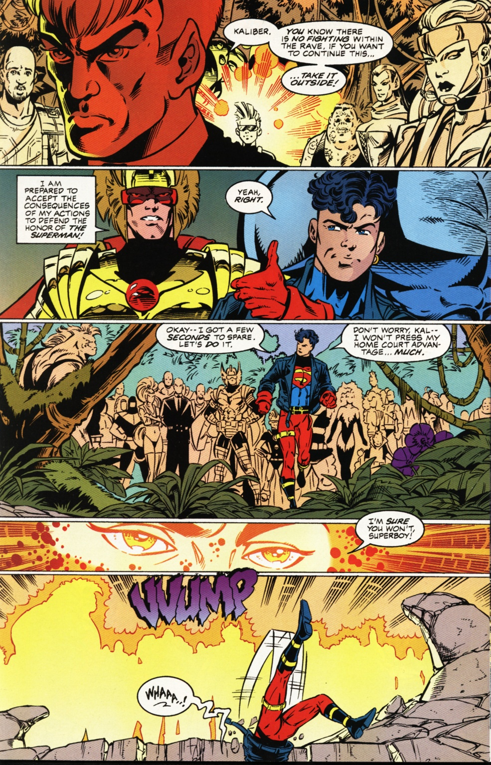 Read online Superboy & The Ravers comic -  Issue #1 - 19
