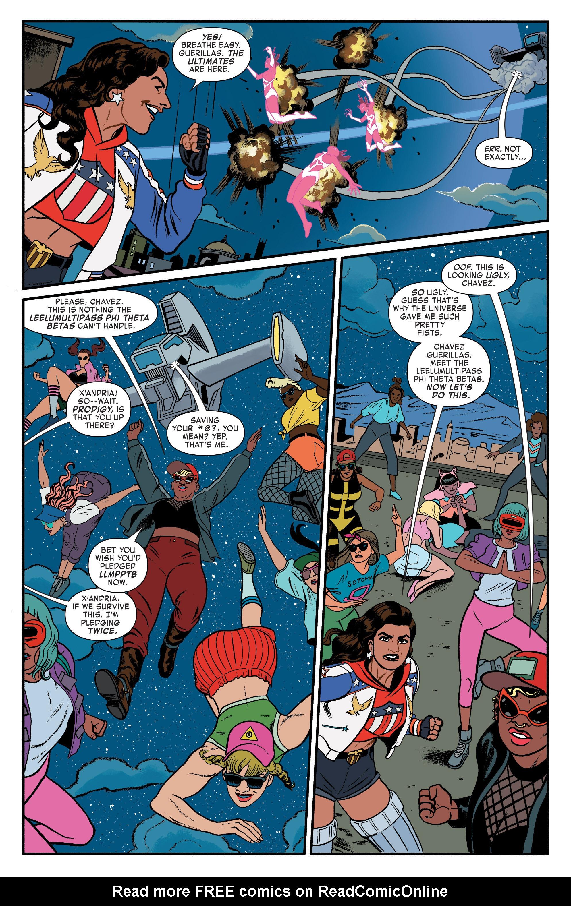 Read online America (2016) comic -  Issue #3 - 19