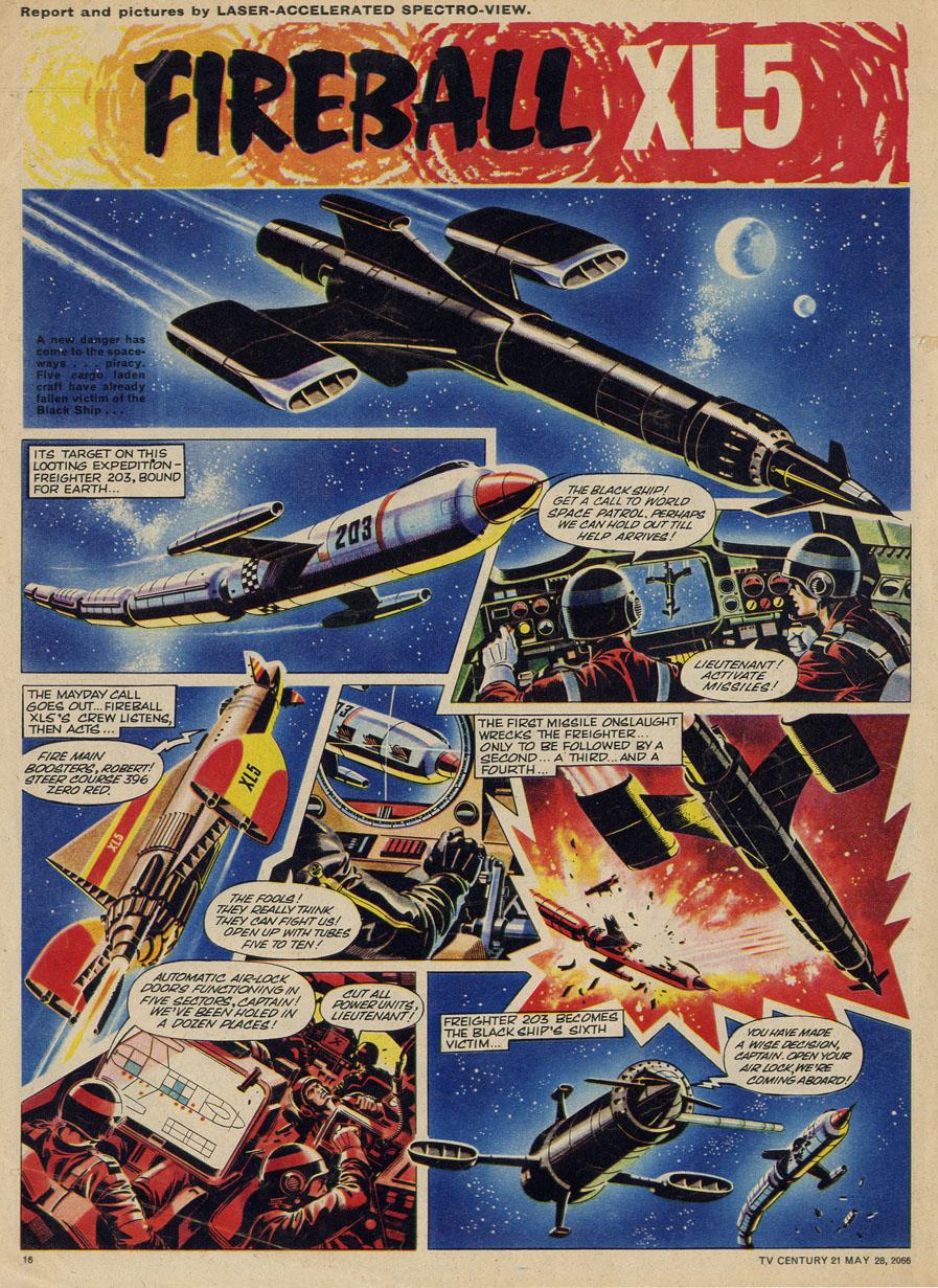 Read online TV Century 21 (TV 21) comic -  Issue #71 - 15
