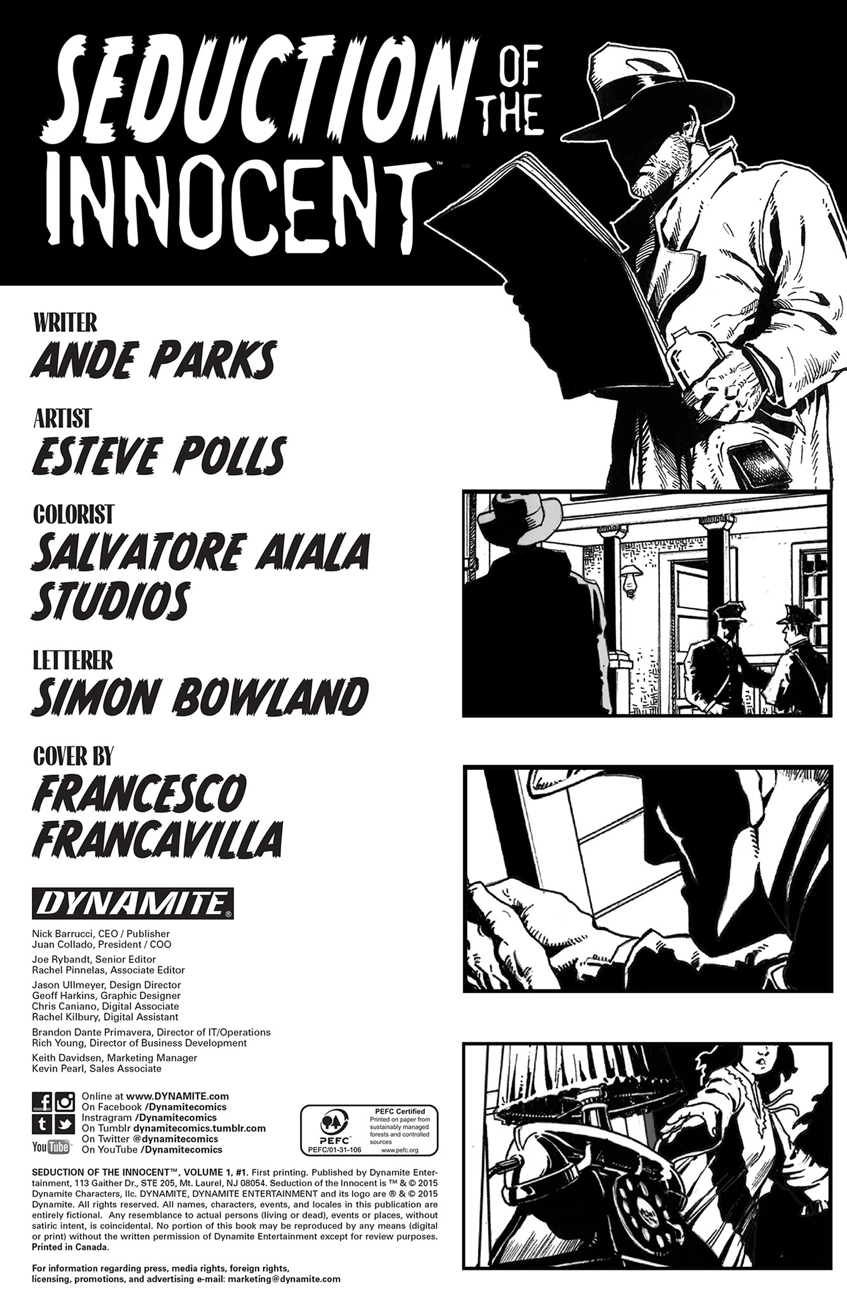 Read online Seduction of the Innocent (2015) comic -  Issue #1 - 2
