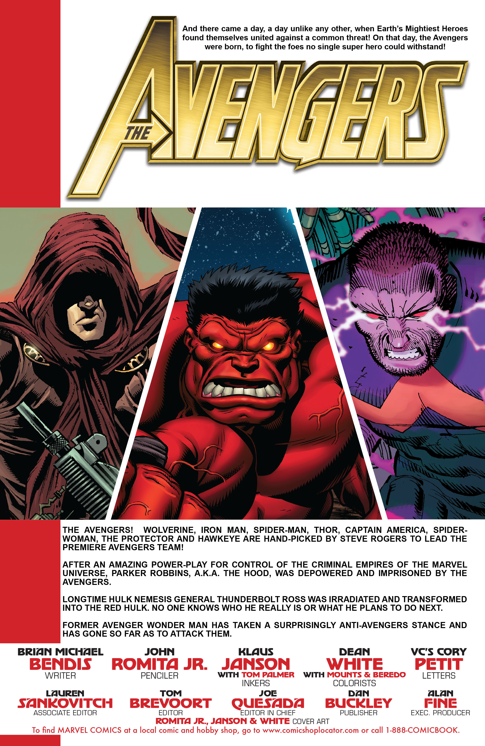Read online Avengers (2010) comic -  Issue #7 - 2