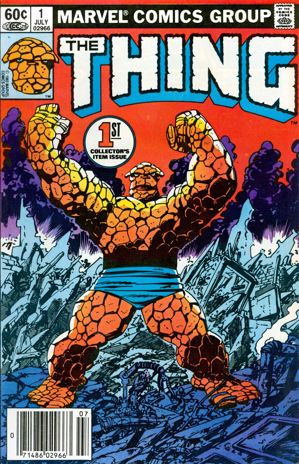 The Thing (1983) issue 1 - Page 1