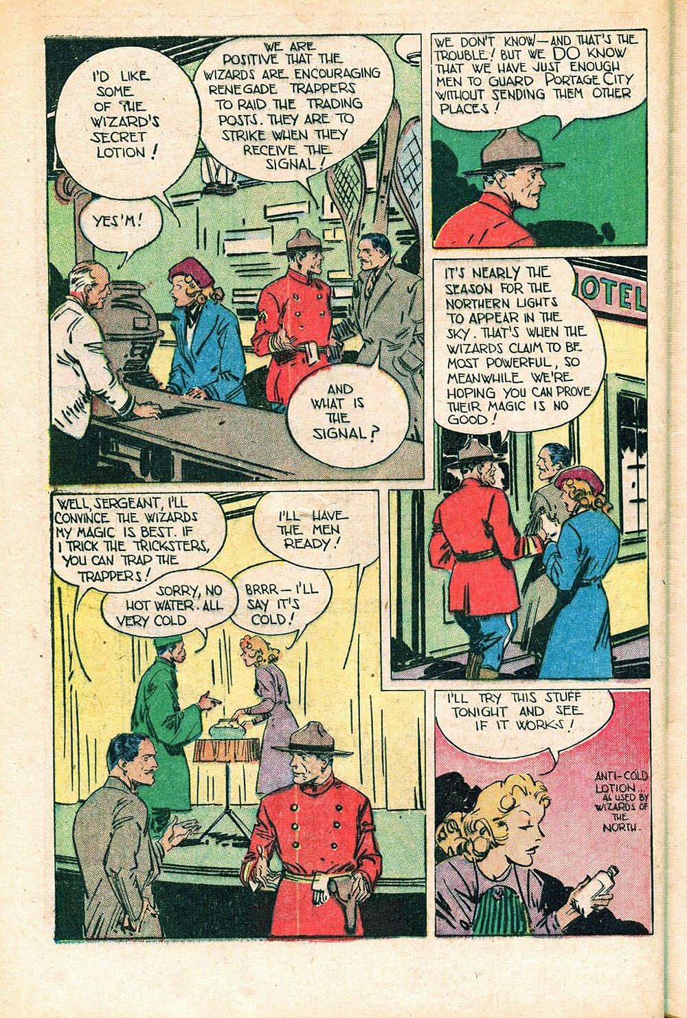Read online Super-Magician Comics comic -  Issue #55 - 40