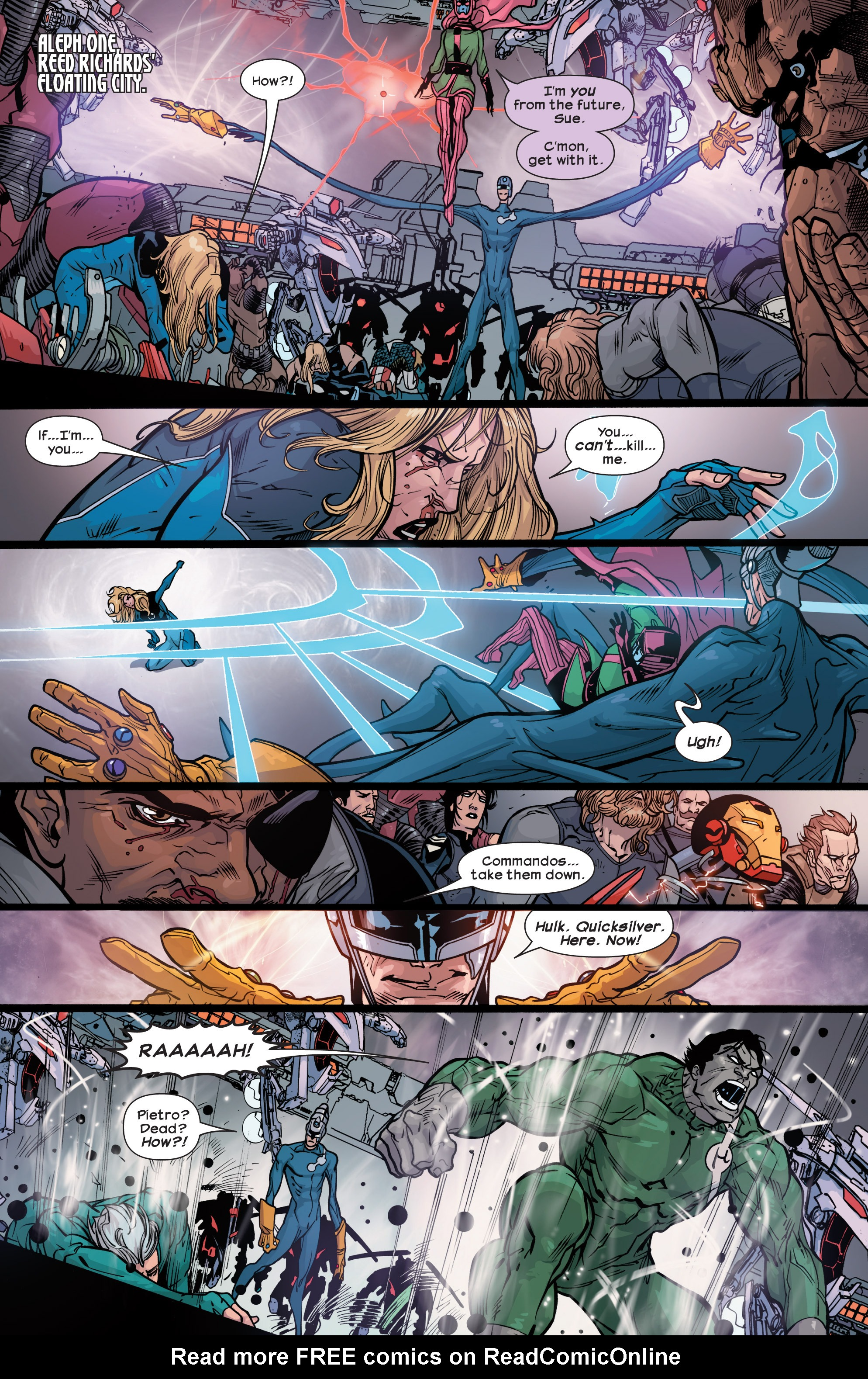 Read online Ultimate Comics Ultimates comic -  Issue #30 - 5