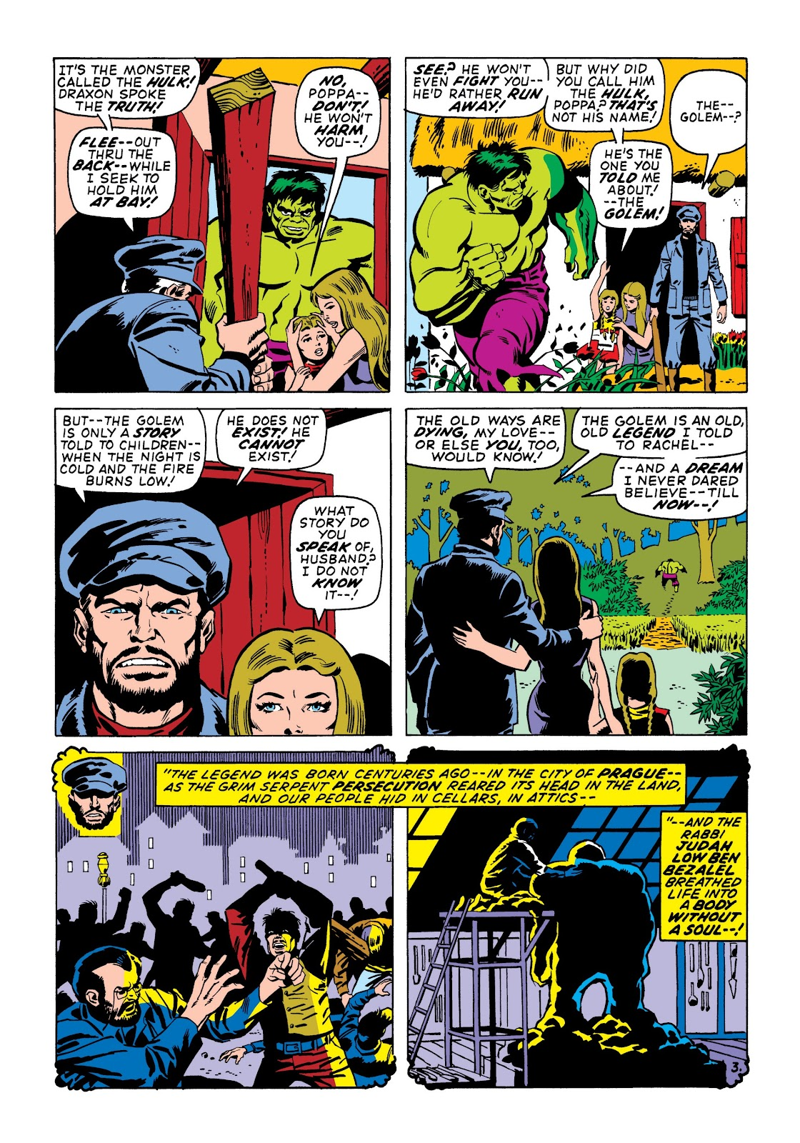 Read online Marvel Masterworks: The Incredible Hulk comic -  Issue # TPB 6 (Part 3) - 57