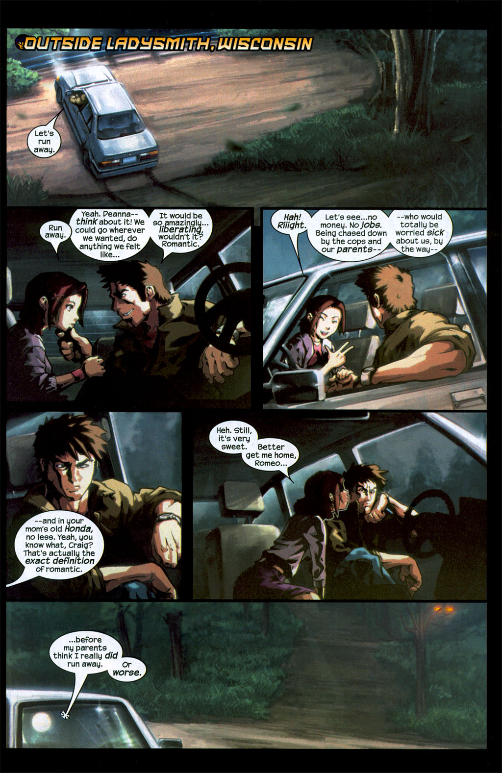 Read online Sentinel (2006) comic -  Issue #1 - 2