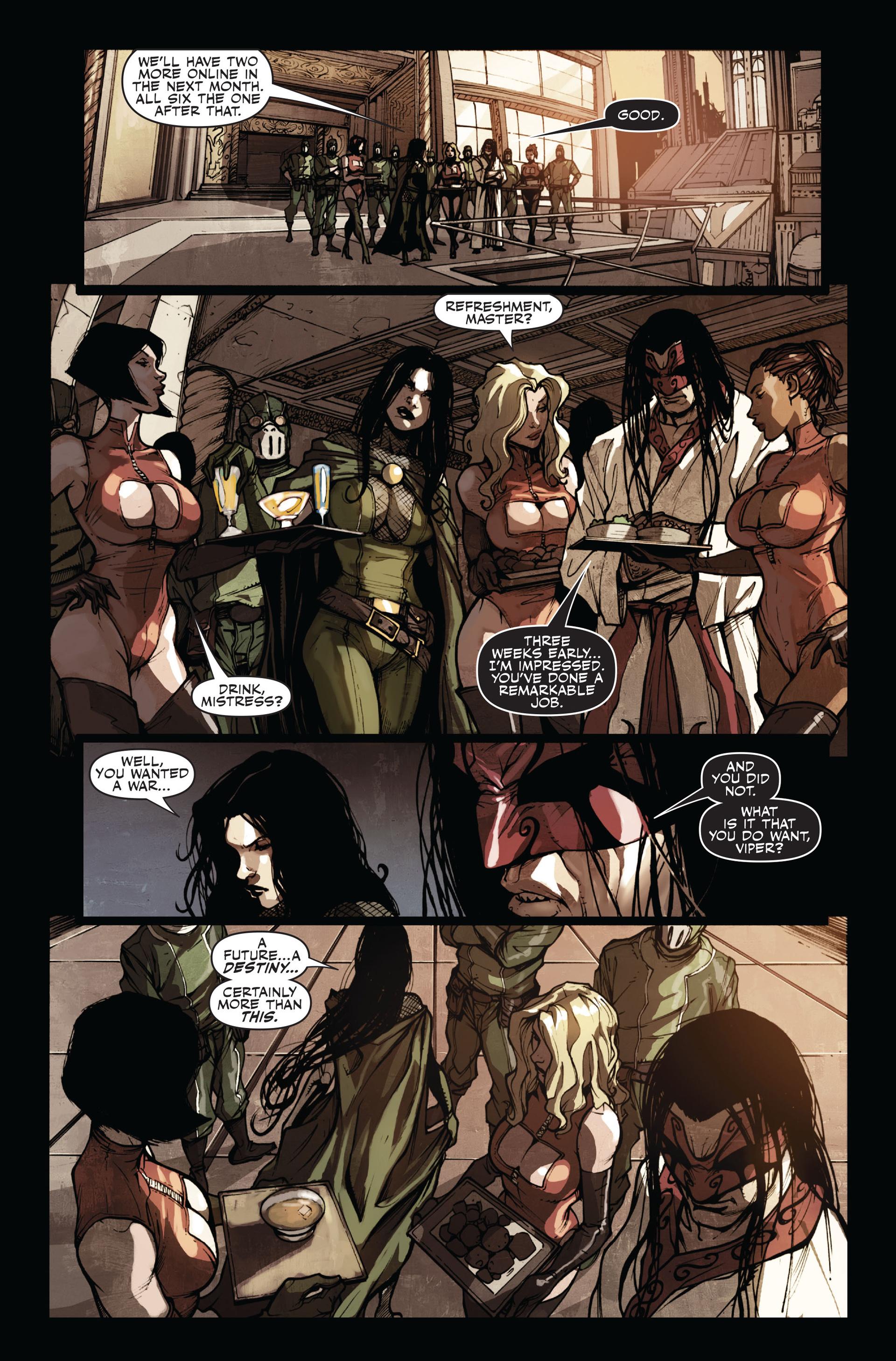 Read online Secret Warriors comic -  Issue #11 - 9