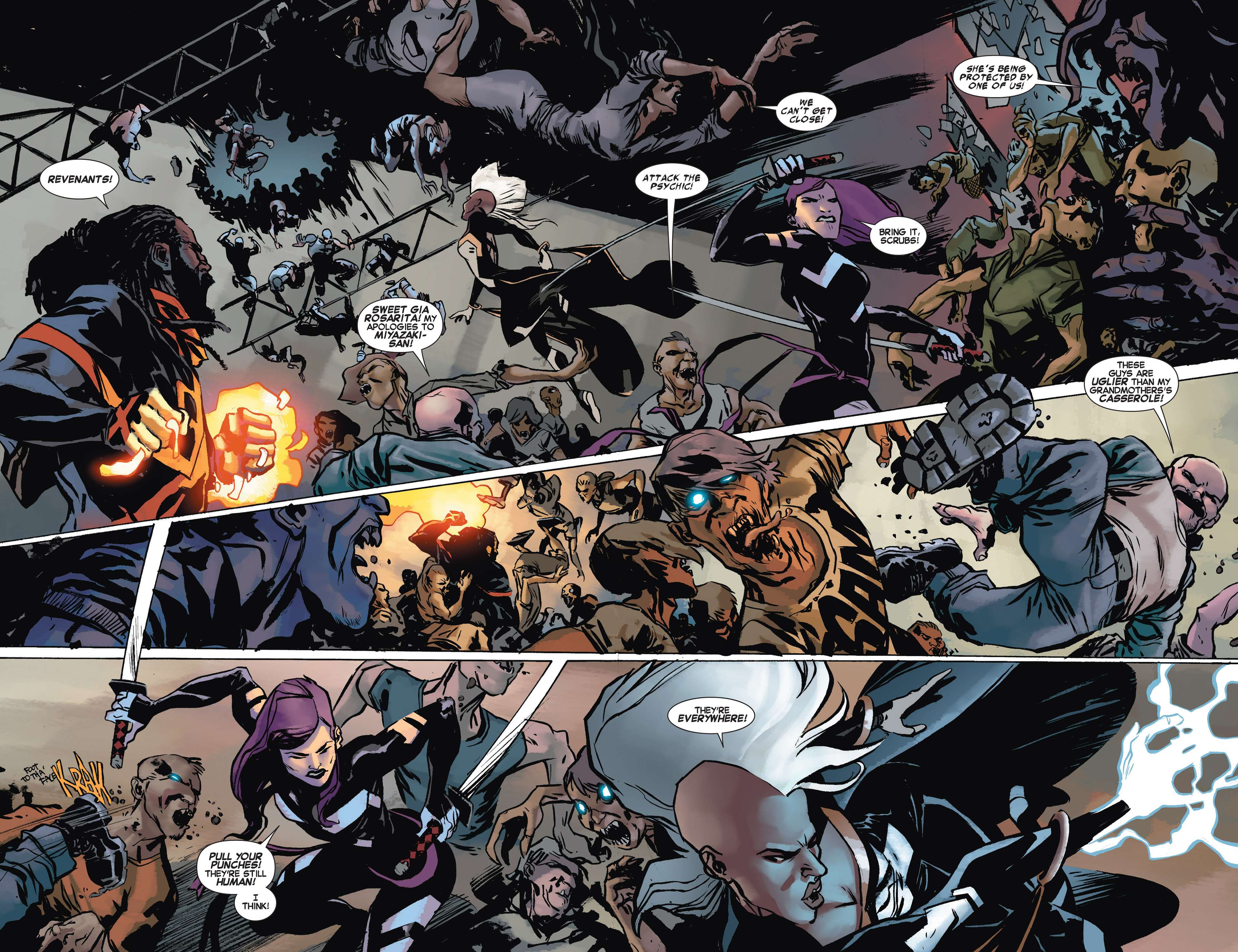 Read online Uncanny X-Force (2013) comic -  Issue #10 - 9