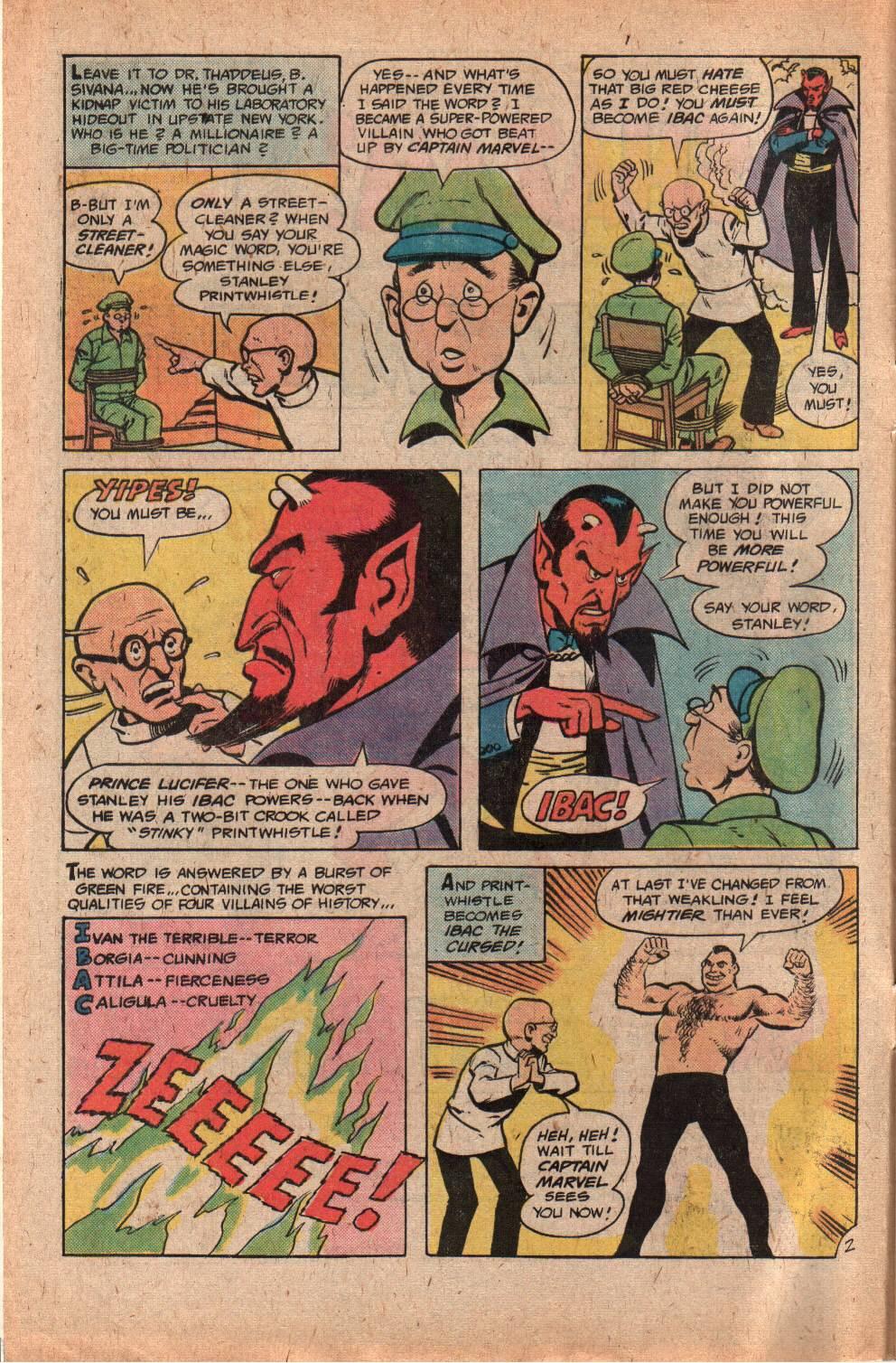 Read online Shazam! (1973) comic -  Issue #29 - 4
