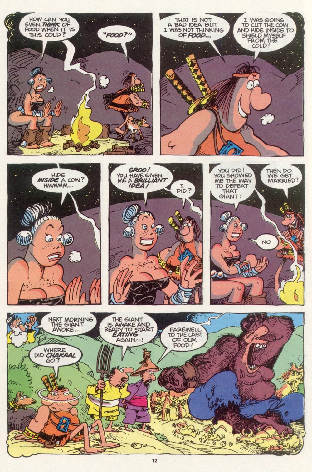 Read online Sergio Aragonés Groo the Wanderer comic -  Issue #98 - 13