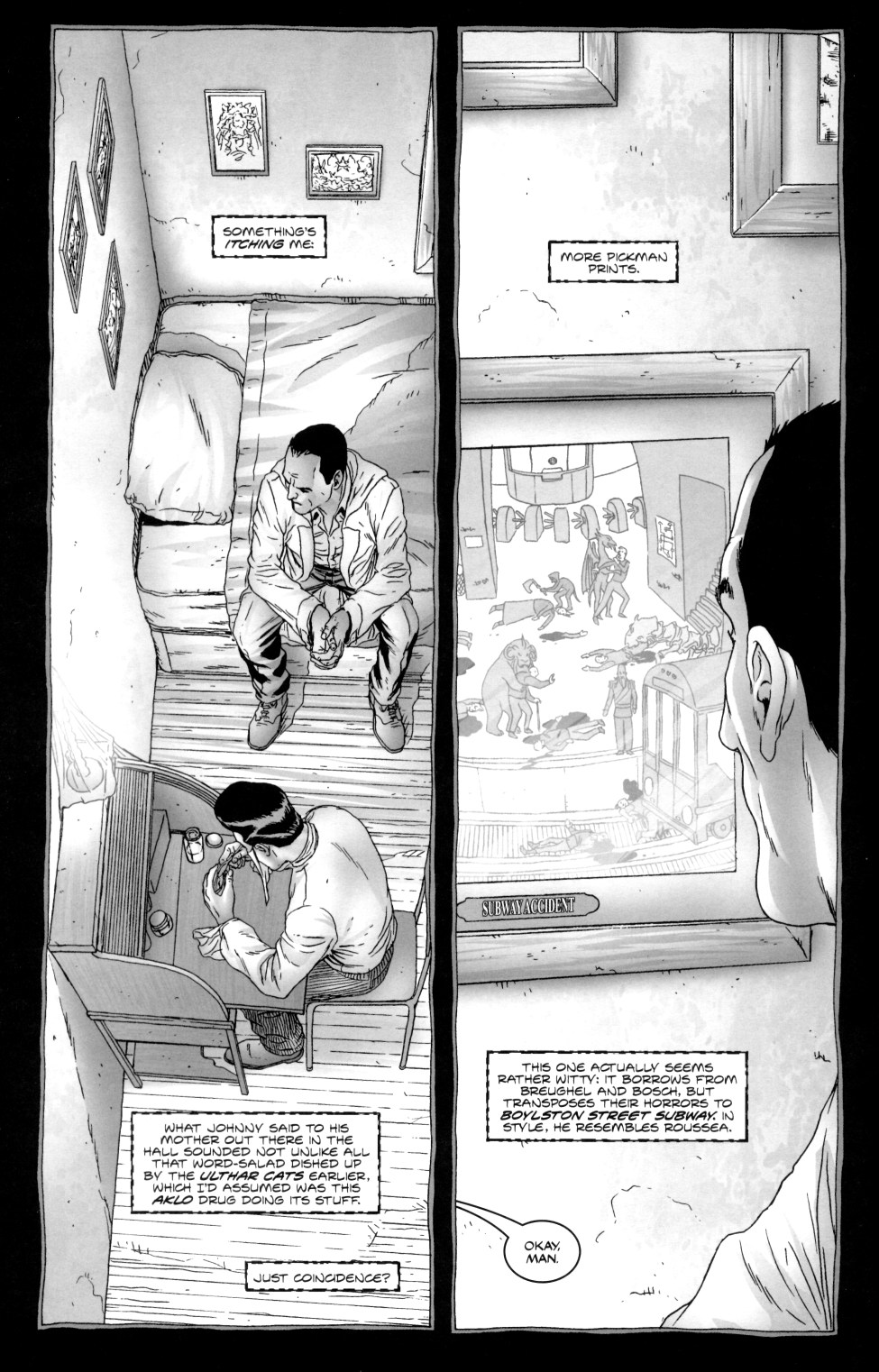Read online Alan Moore's The Courtyard comic -  Issue #2 - 10