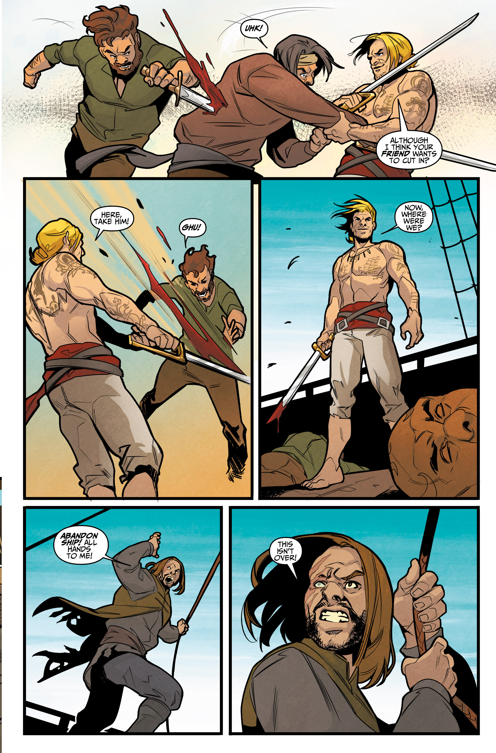 Read online Assassin's Creed: Reflections comic -  Issue #3 - 19