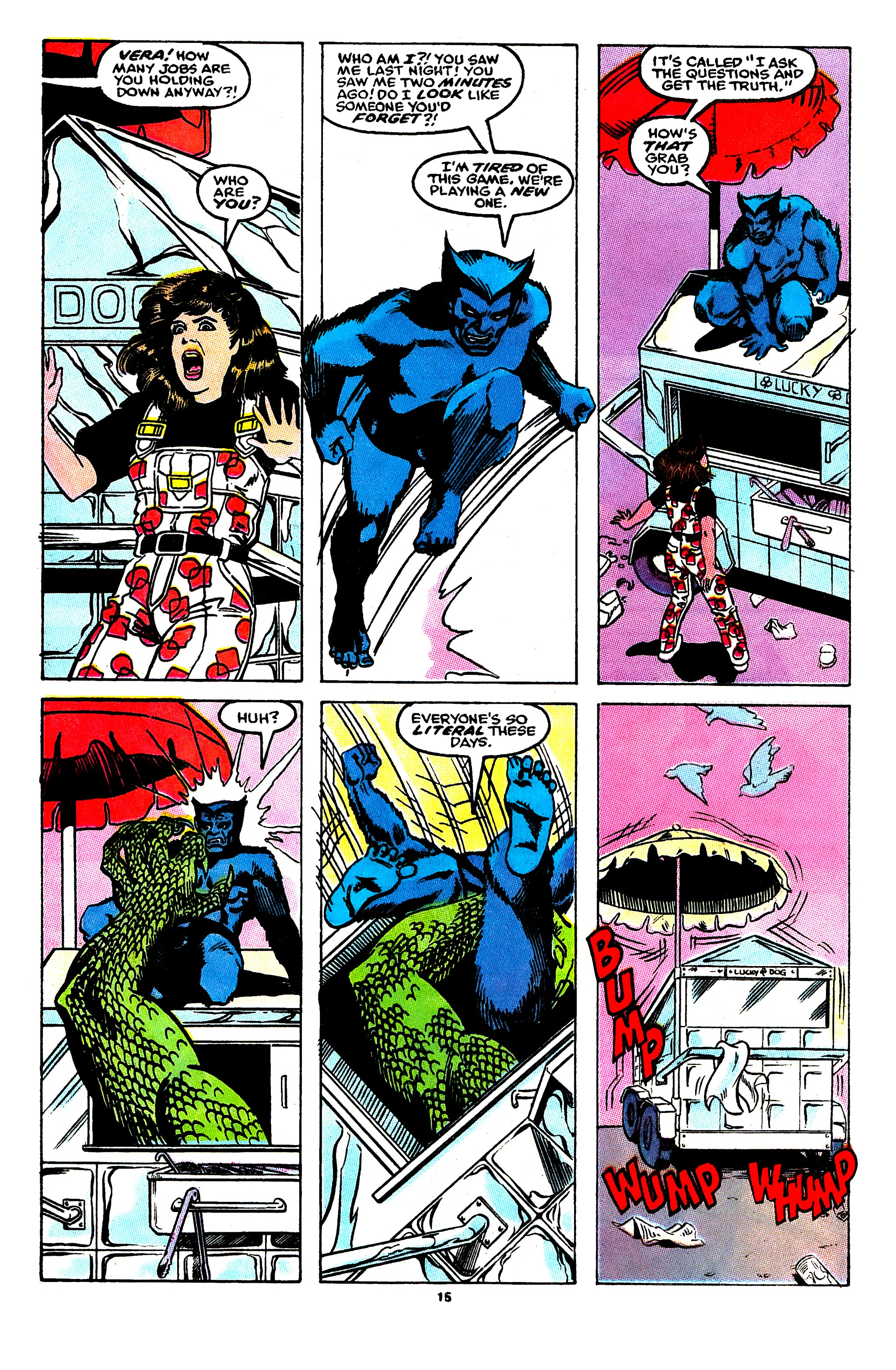 Read online X-Factor (1986) comic -  Issue #55 - 12