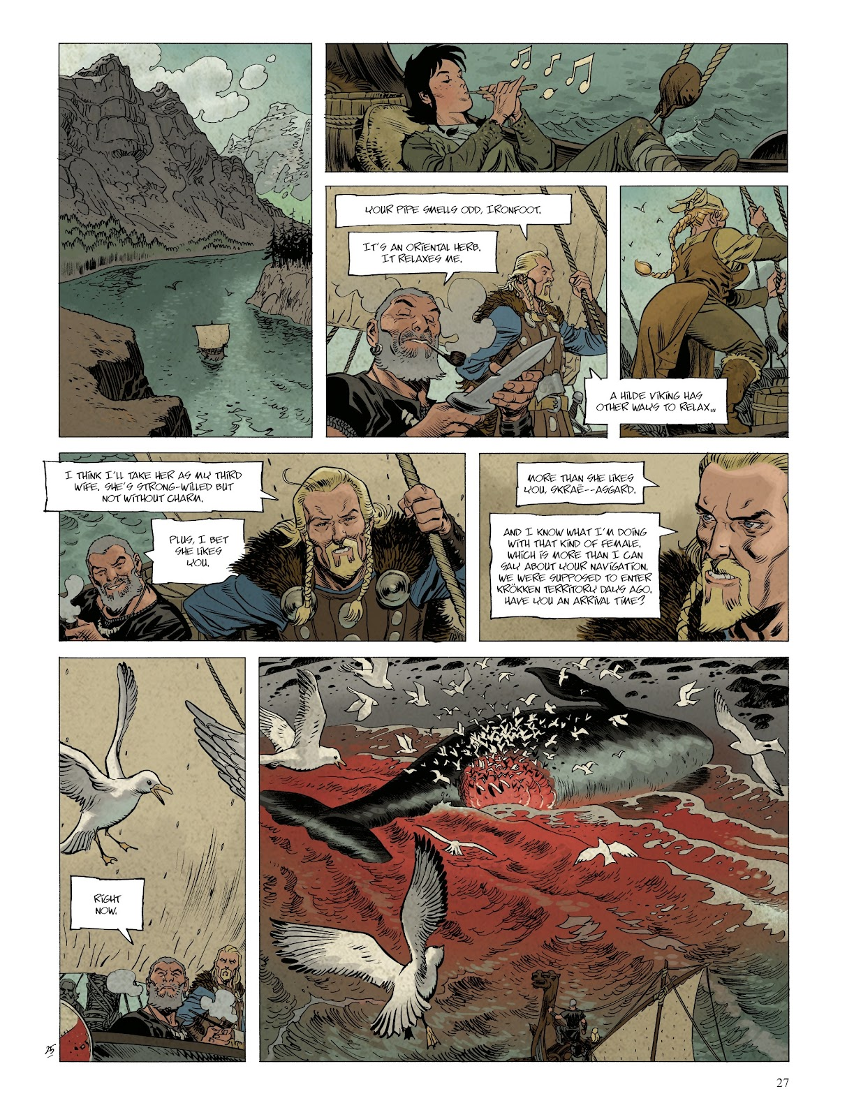 Read online Asgard comic -  Issue #1 - 29