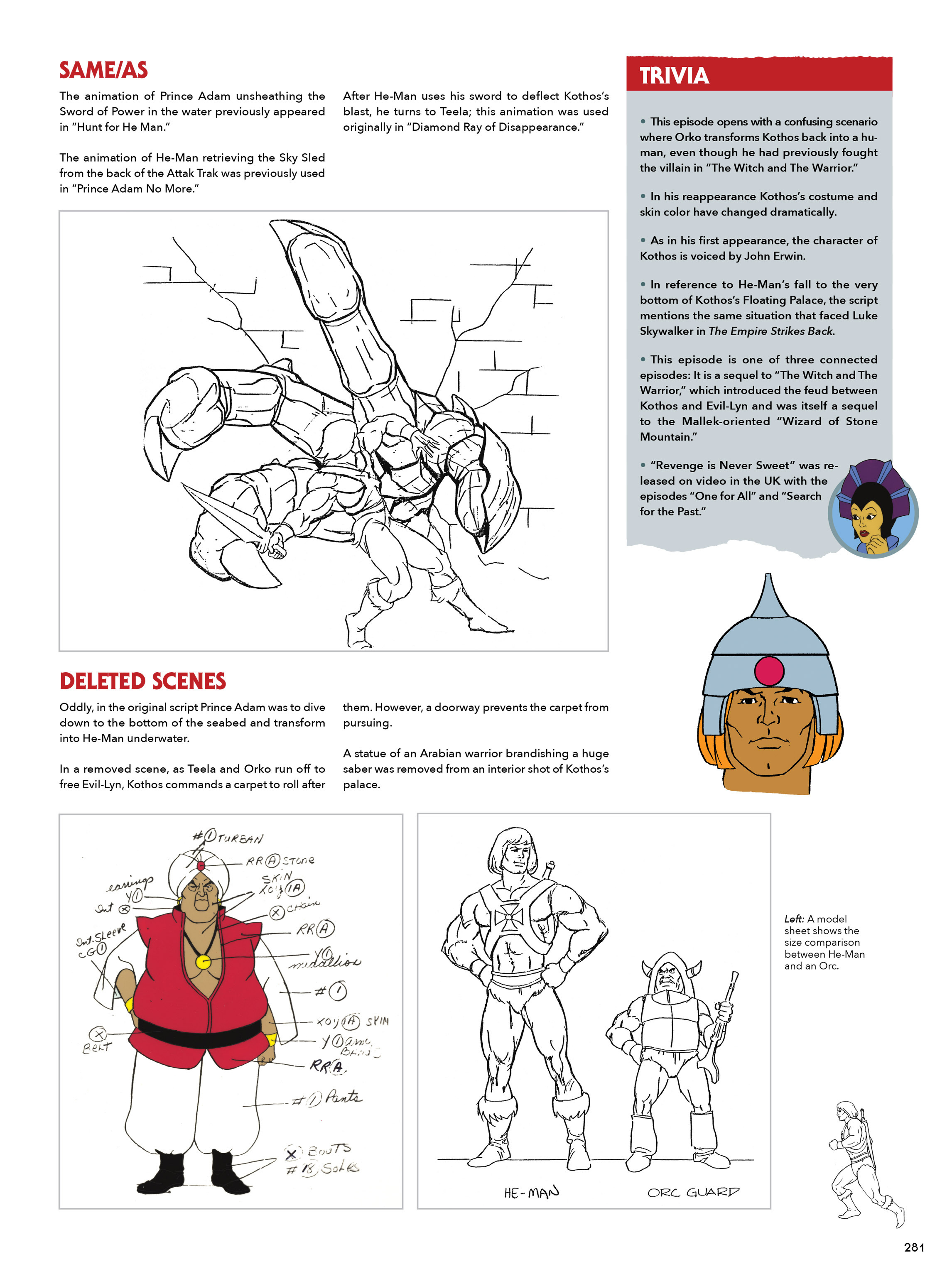 Read online He-Man and She-Ra: A Complete Guide to the Classic Animated Adventures comic -  Issue # TPB (Part 2) - 82