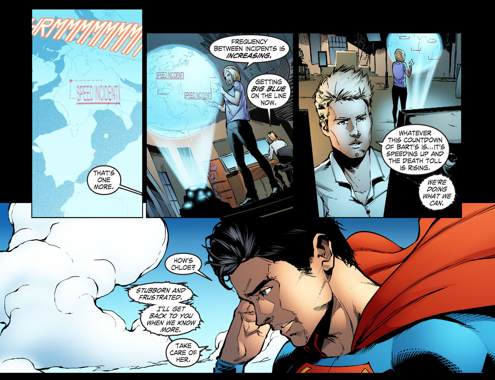 Read online Smallville: Season 11 comic -  Issue #33 - 5