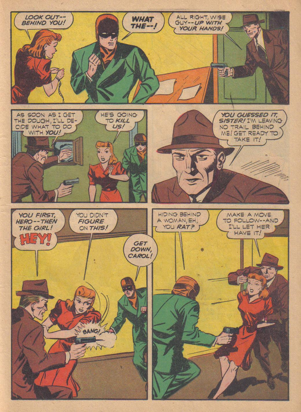 Exciting Comics (1940) issue 13 - Page 43