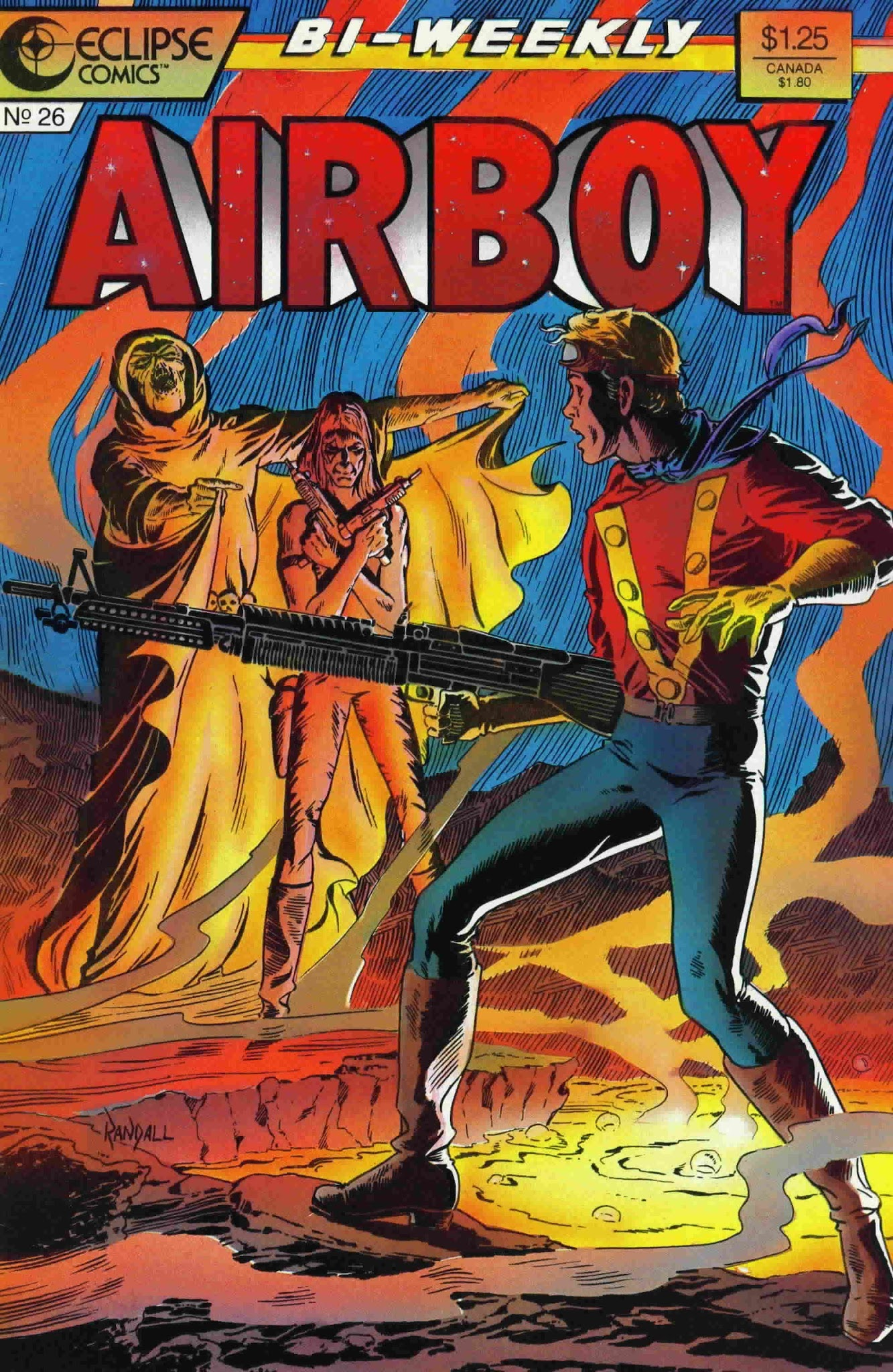 Airboy (1986) 26 Page 1