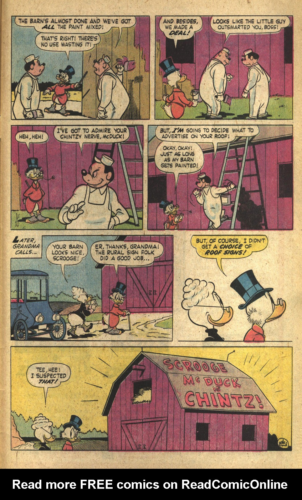 Read online Uncle Scrooge (1953) comic -  Issue #149 - 33