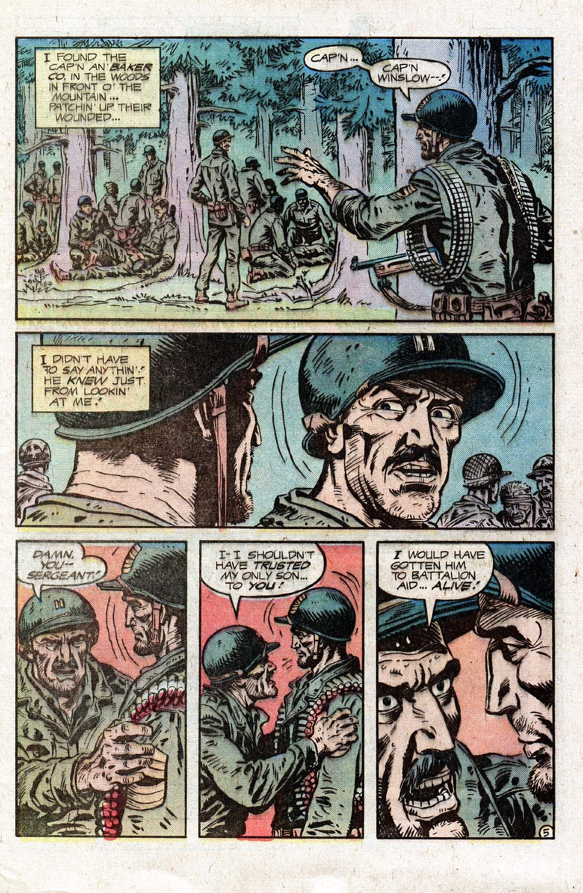 Read online Sgt. Rock comic -  Issue #331 - 9