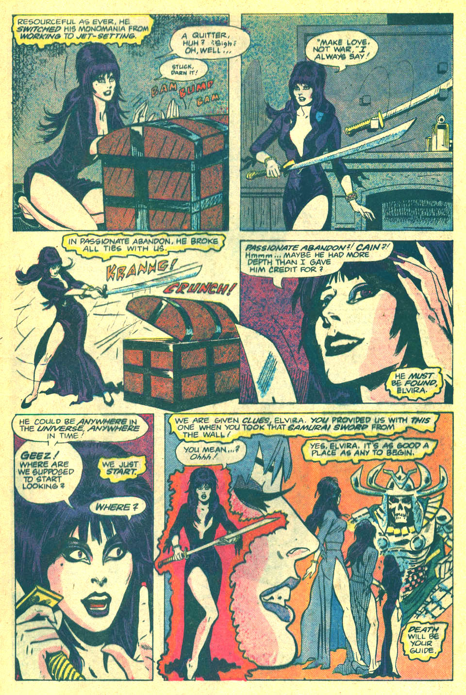 Elvira's House of Mystery Issue #2 #3 - English 4