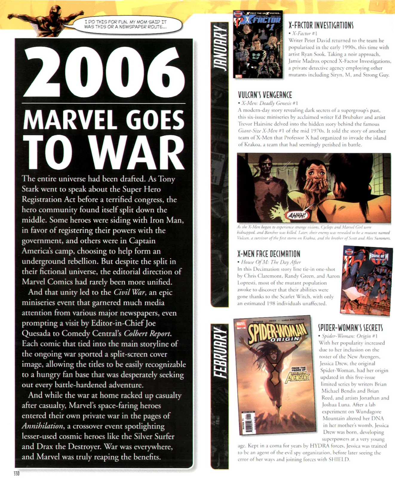 Read online Marvel Chronicle comic -  Issue # TPB (Part 3) - 106