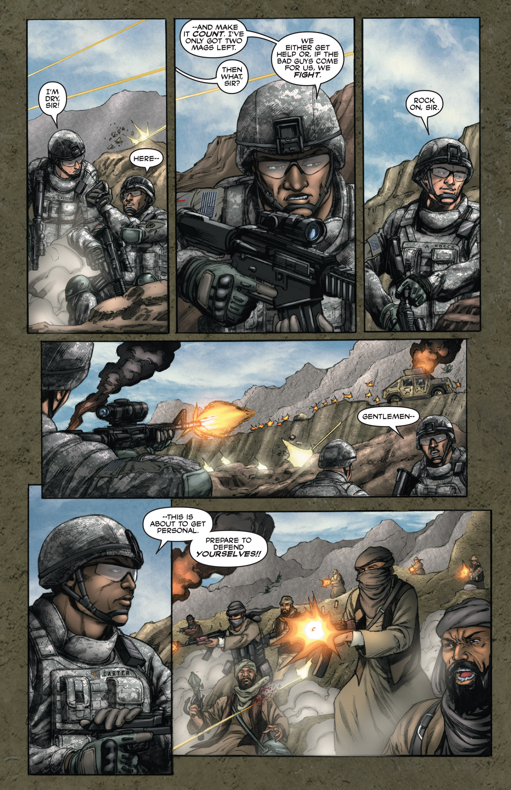 Read online America's Army comic -  Issue #14 - 19
