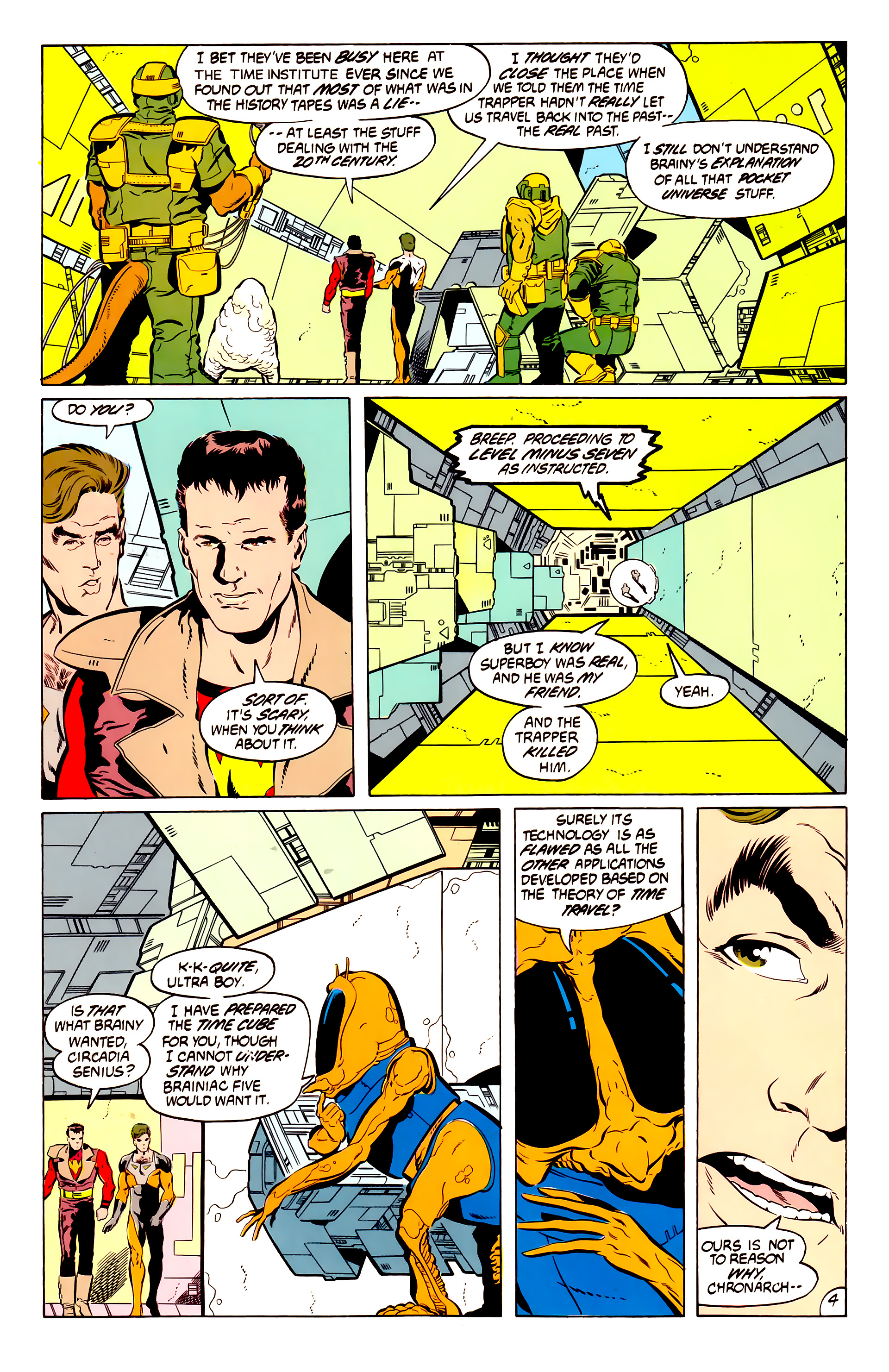 Legion of Super-Heroes (1984) 50 Page 4