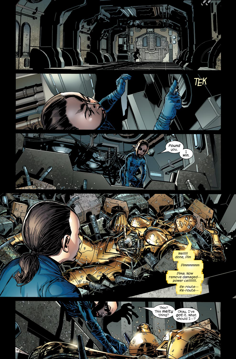 Read online Ultimate Vision comic -  Issue #2 - 19