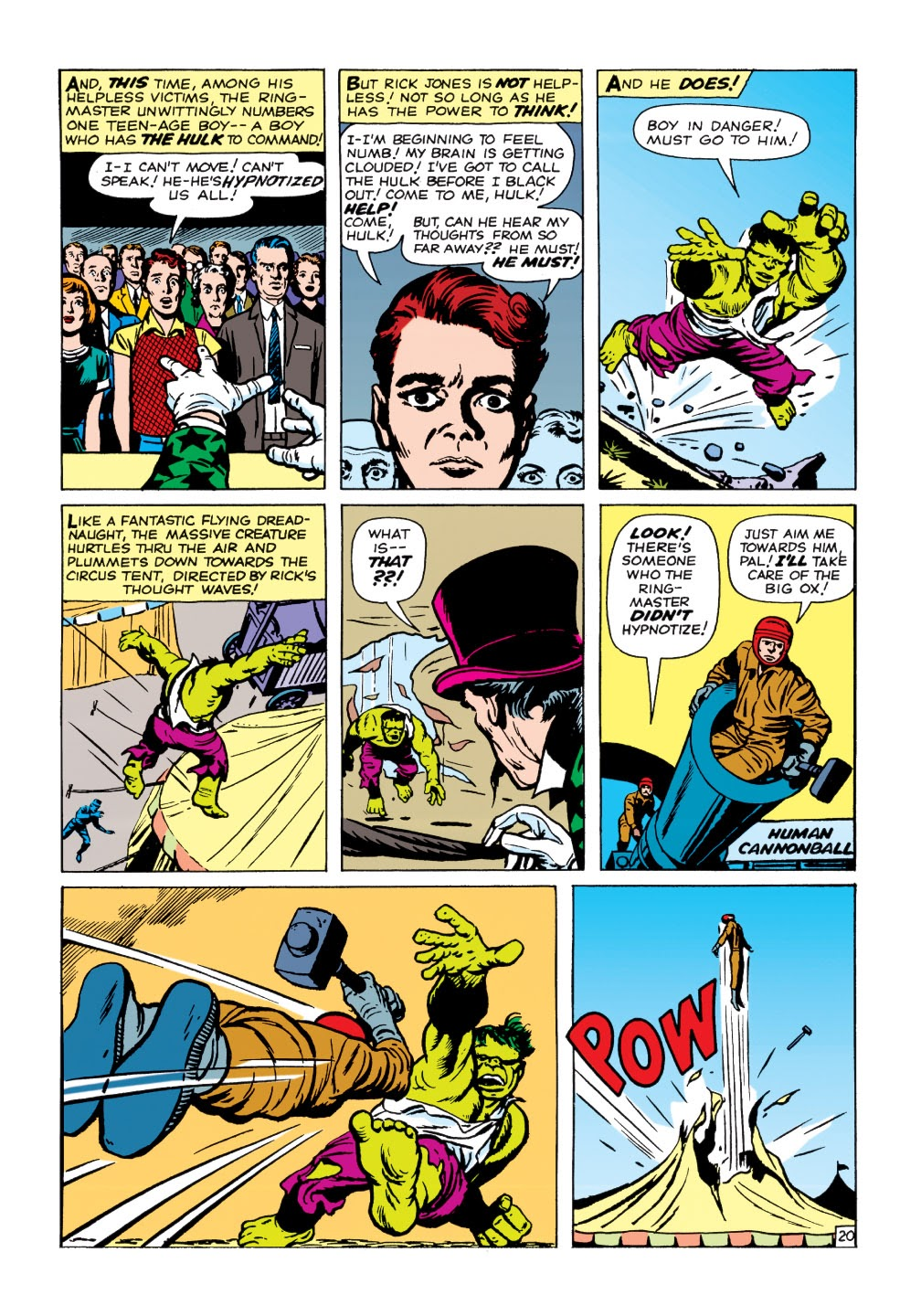 Read online Marvel Masterworks: The Incredible Hulk comic -  Issue # TPB 1 (Part 1) - 73