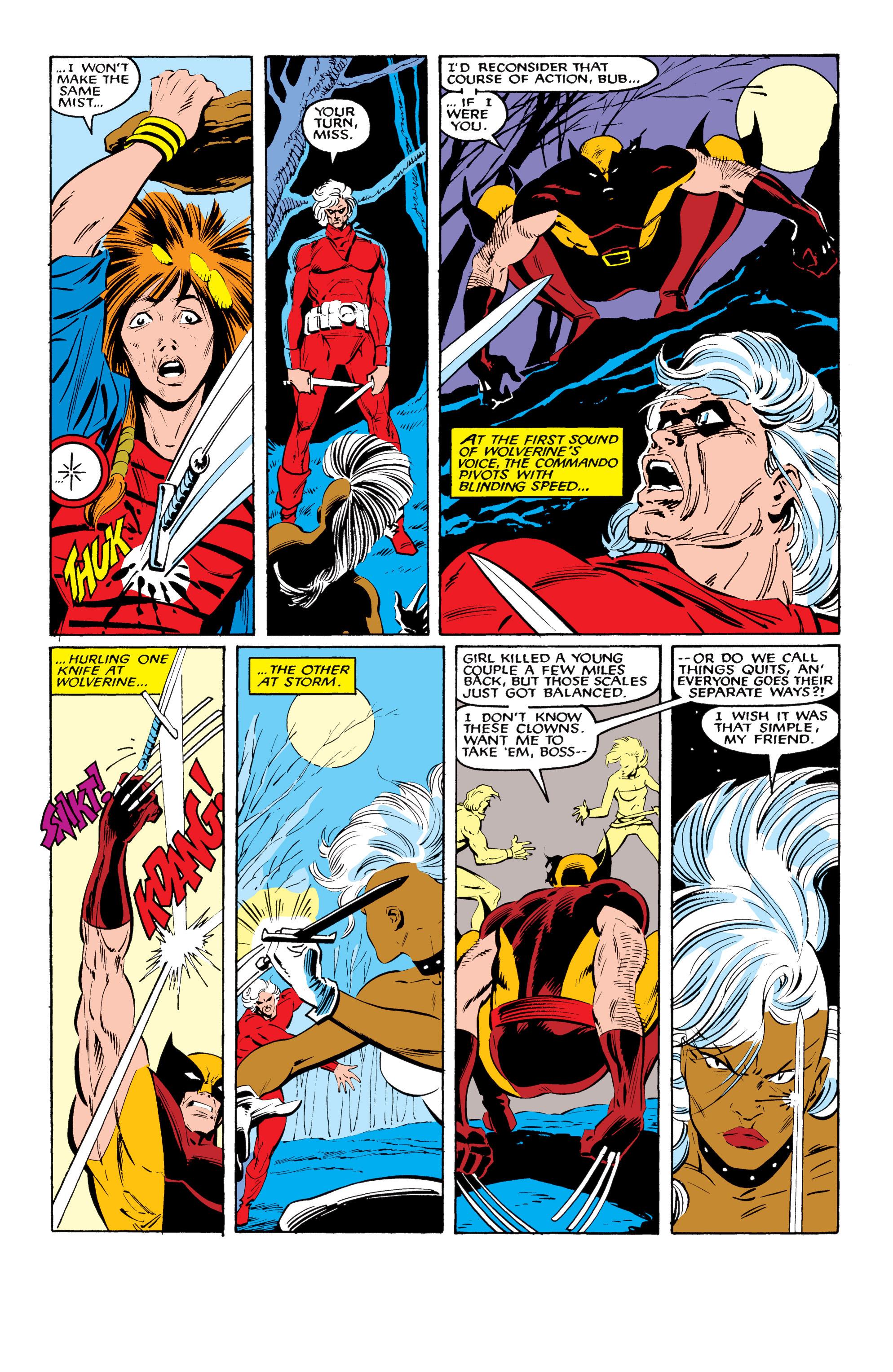 Read online Uncanny X-Men (1963) comic -  Issue #216 - 20